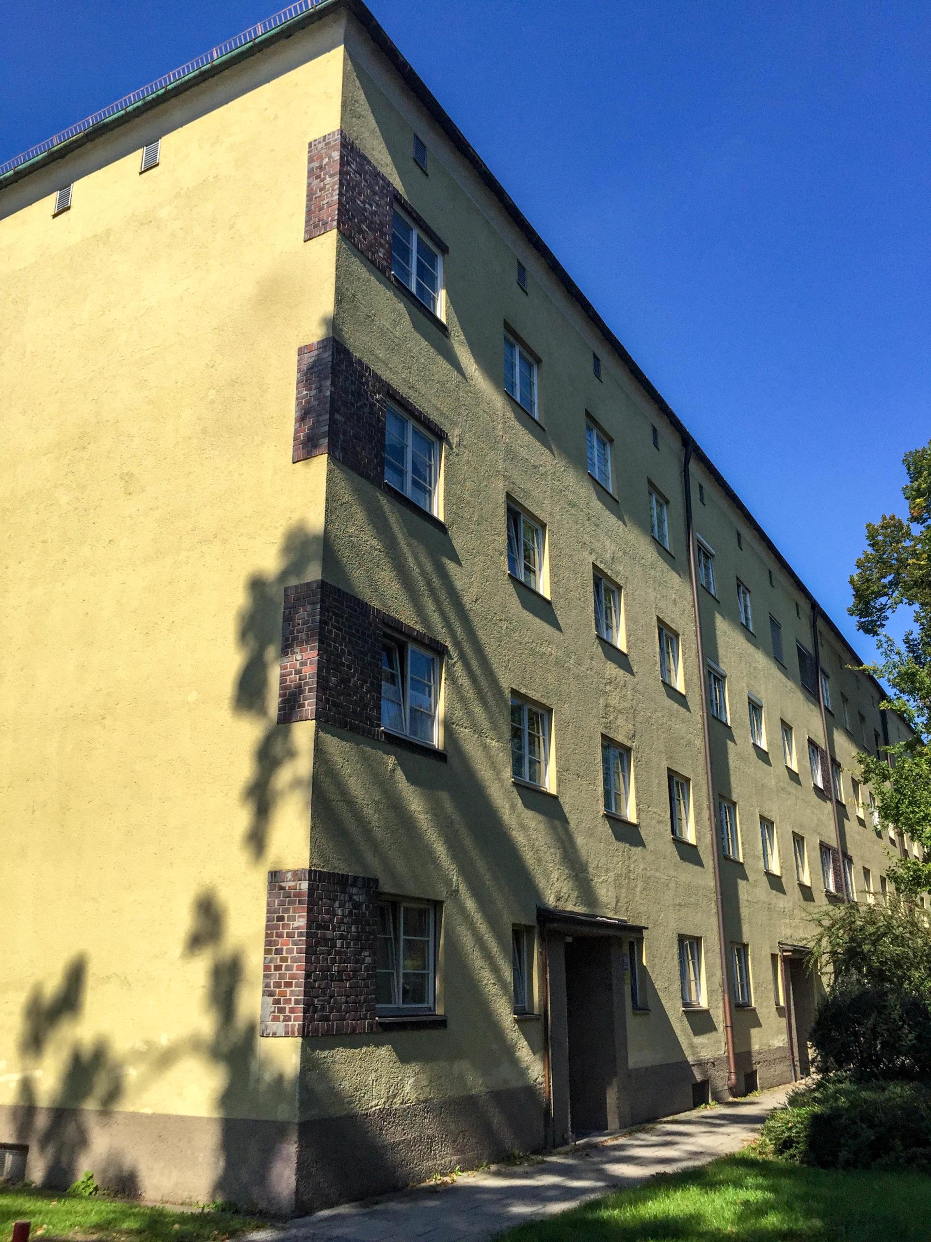 Siedlung Neuramersdorf, 1928-1930. Architekten: Oscar Delisle, Bernard Ingwersen, Richard Berndl