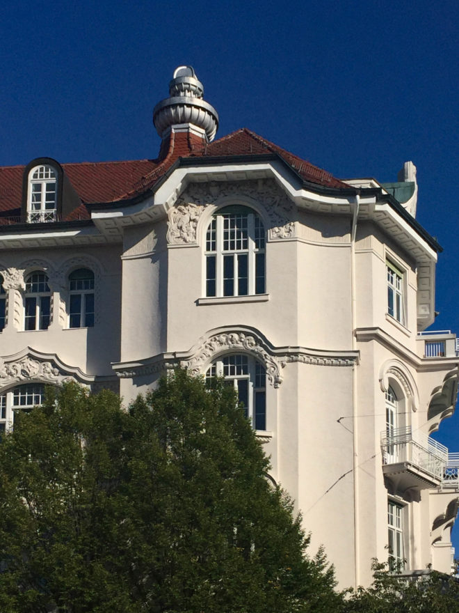Wohnhaus, 1903-1904. Architekt: Max Langheinrich