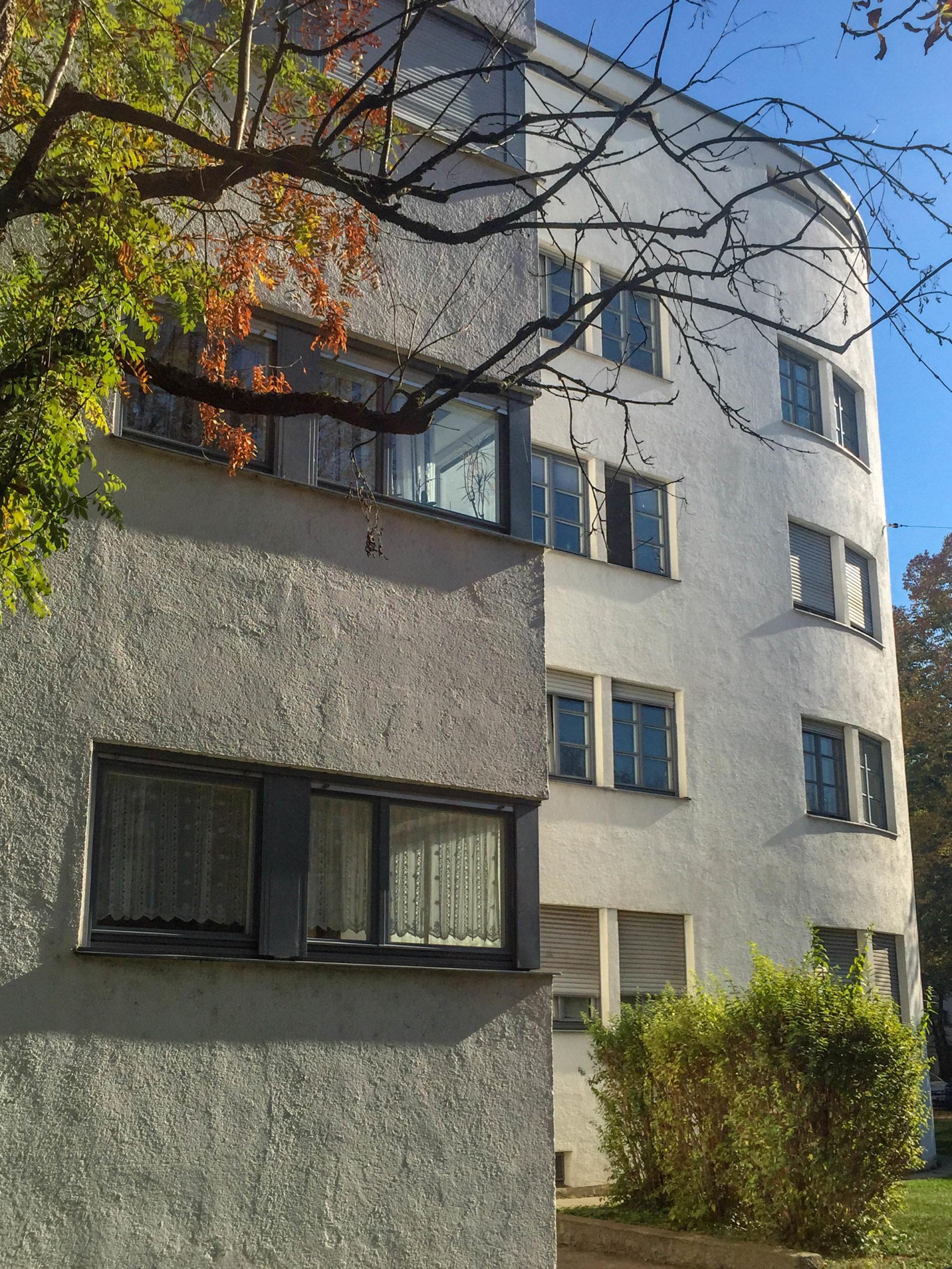 Wohnanlage Lessinghof, 1930-1931. Architekt: Thomas Wechs