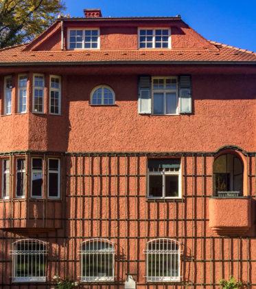 Wohnhaus Buchegger, 1907. Architekt: Sebastian Buchegger, Heinrich Sturzenegger