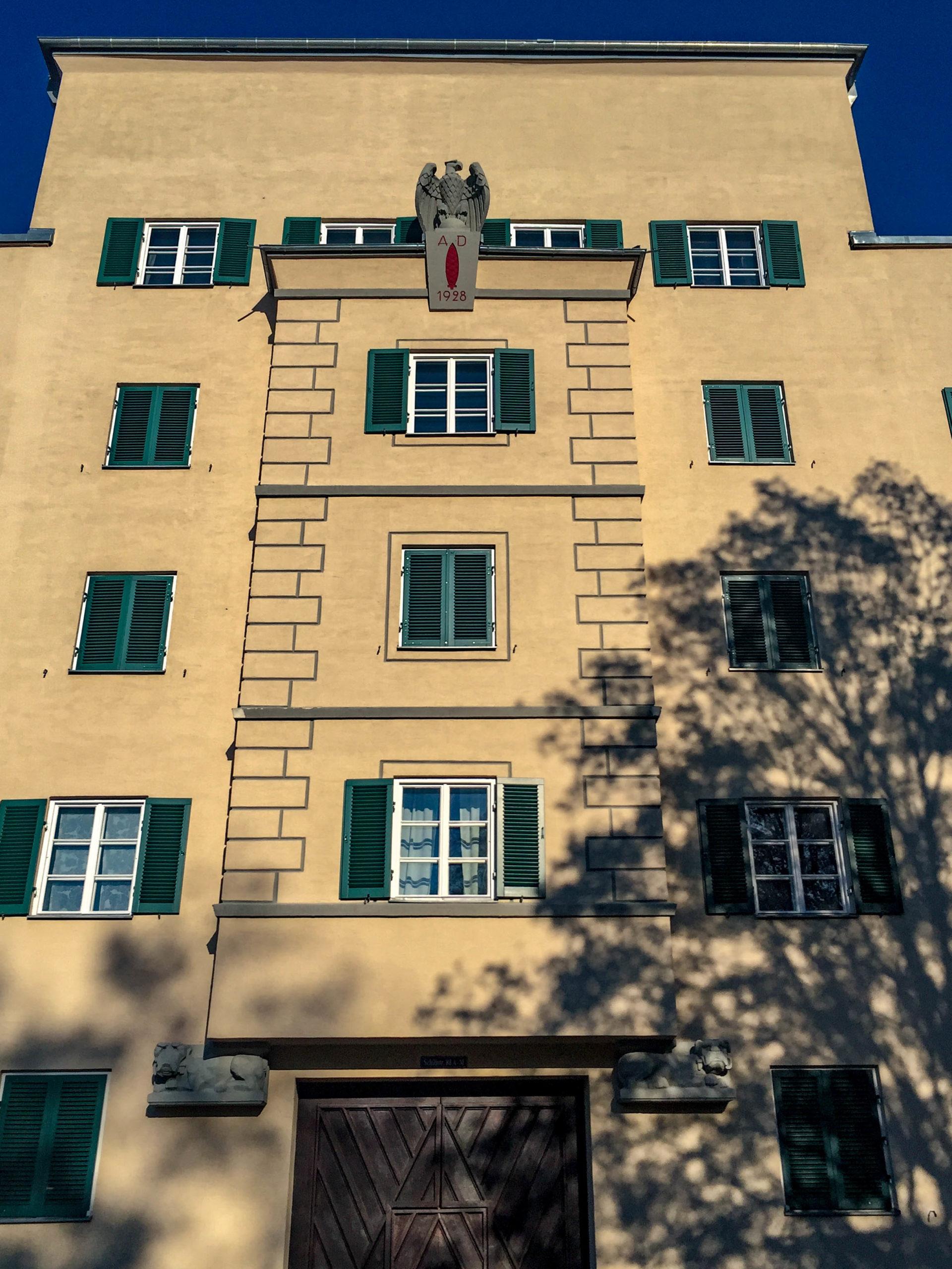 Wohnanlage Birkenhof, 1928. Architekt: Otto Holzer