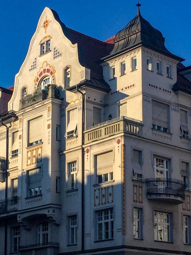Wohnhaus, 1907. Architekt: Jakob Bender