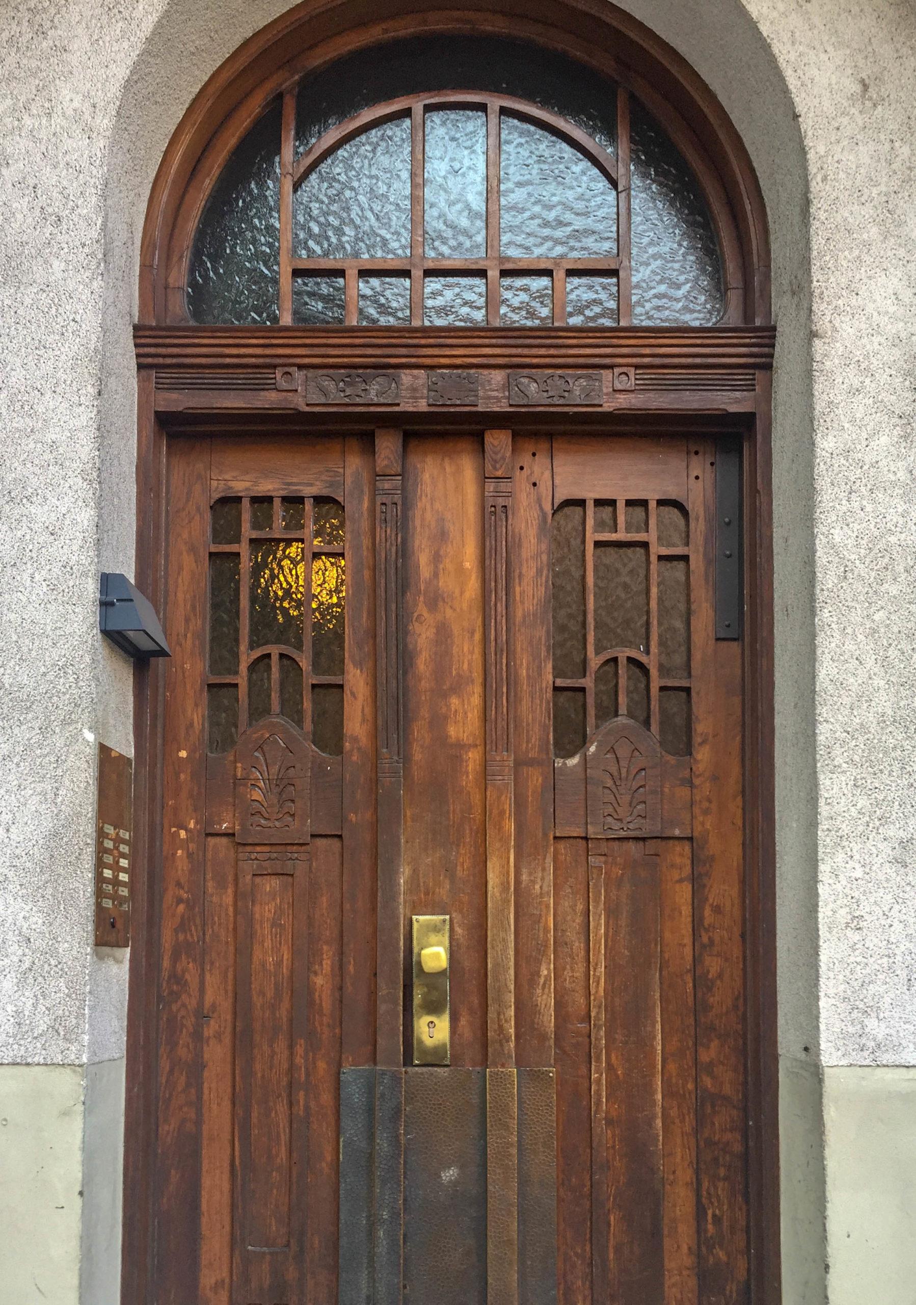 Mietshaus, 1907. Architekt: Jakob Bender