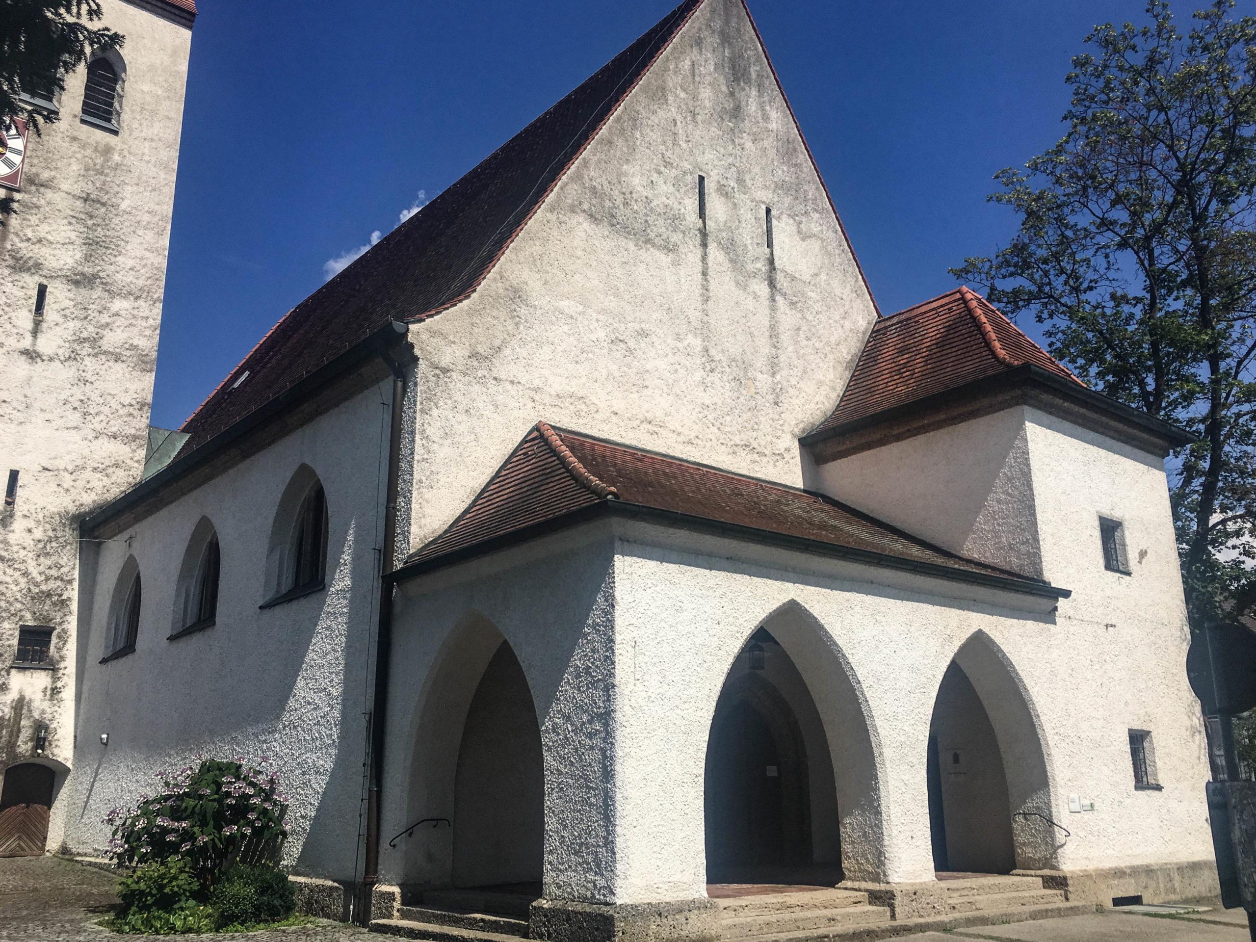 Erlöserkirche, 1925-1927. Architekt: German Bestelmeyer