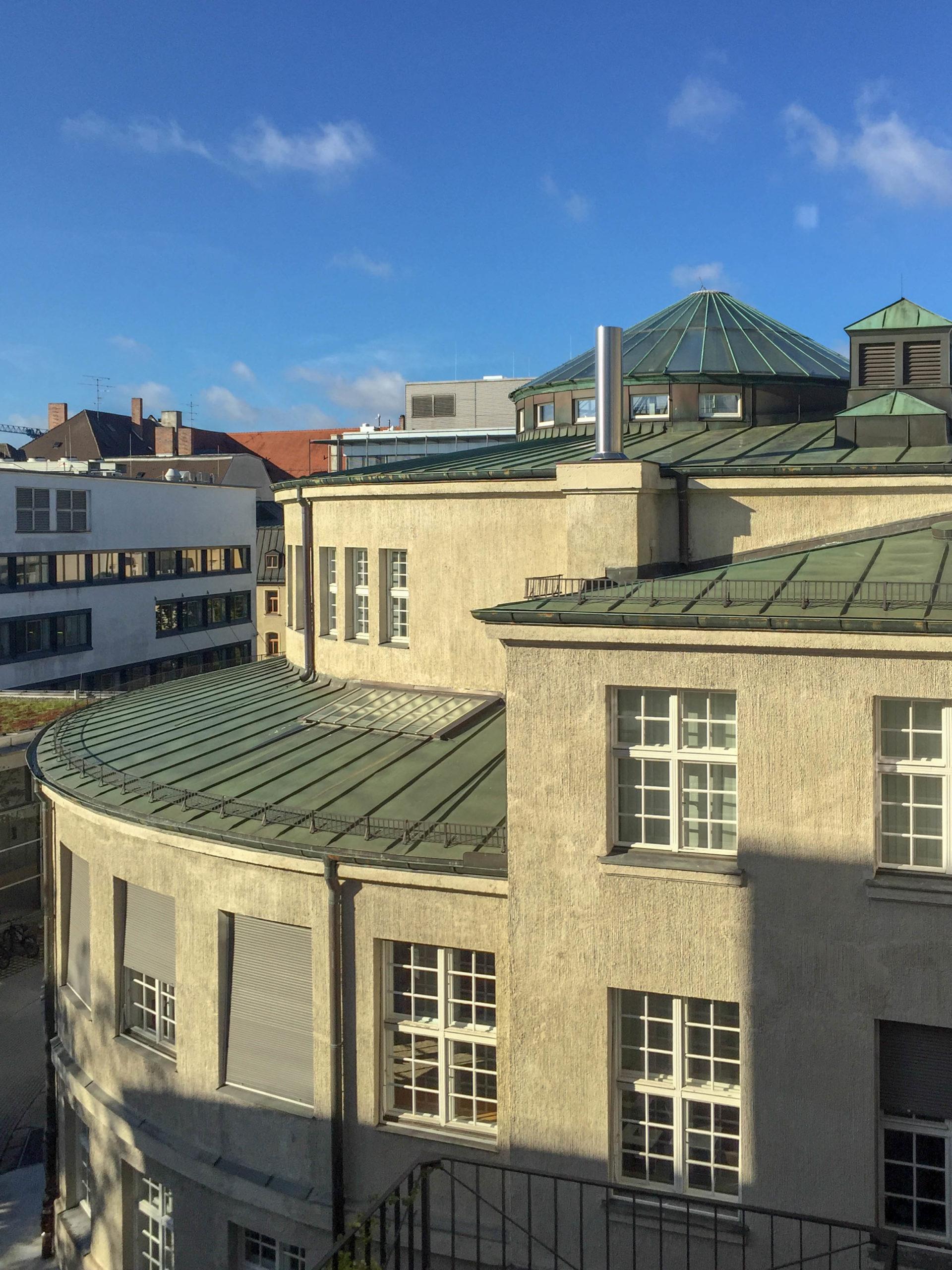 Anatomische Anstalt der Ludwig-Maximilians-Universität, 1905-1907. Architekt: Max Littmann