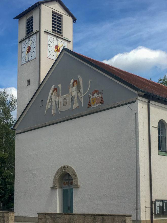 Katholische Pfarrkirche Heilig Blut, 1932-1934. Architekt: Hans Döllgast