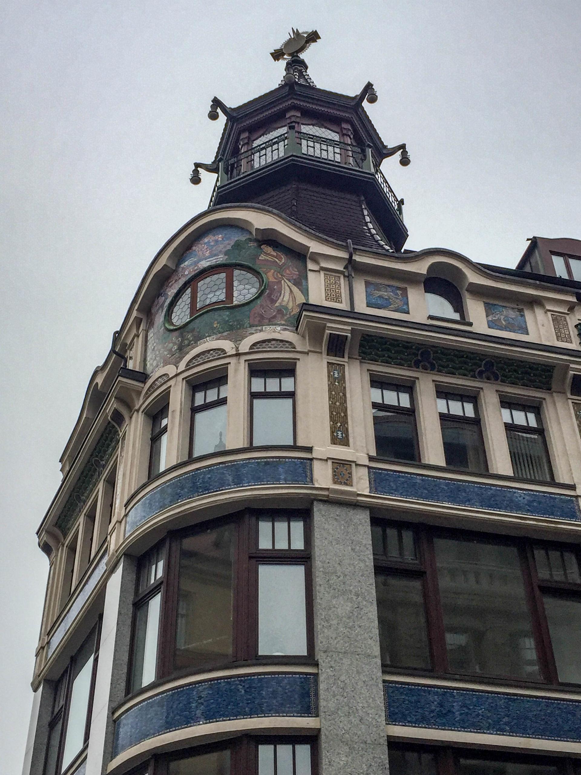 Riquethaus, 1908-1909. Architekt: Paul Lange