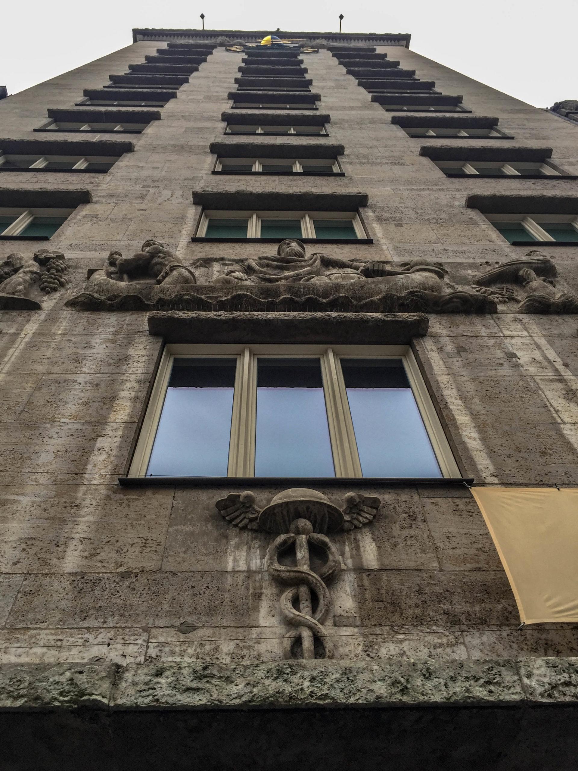 Kroch-Haus, 1927-1928. Architekt: German Bestelmeyer