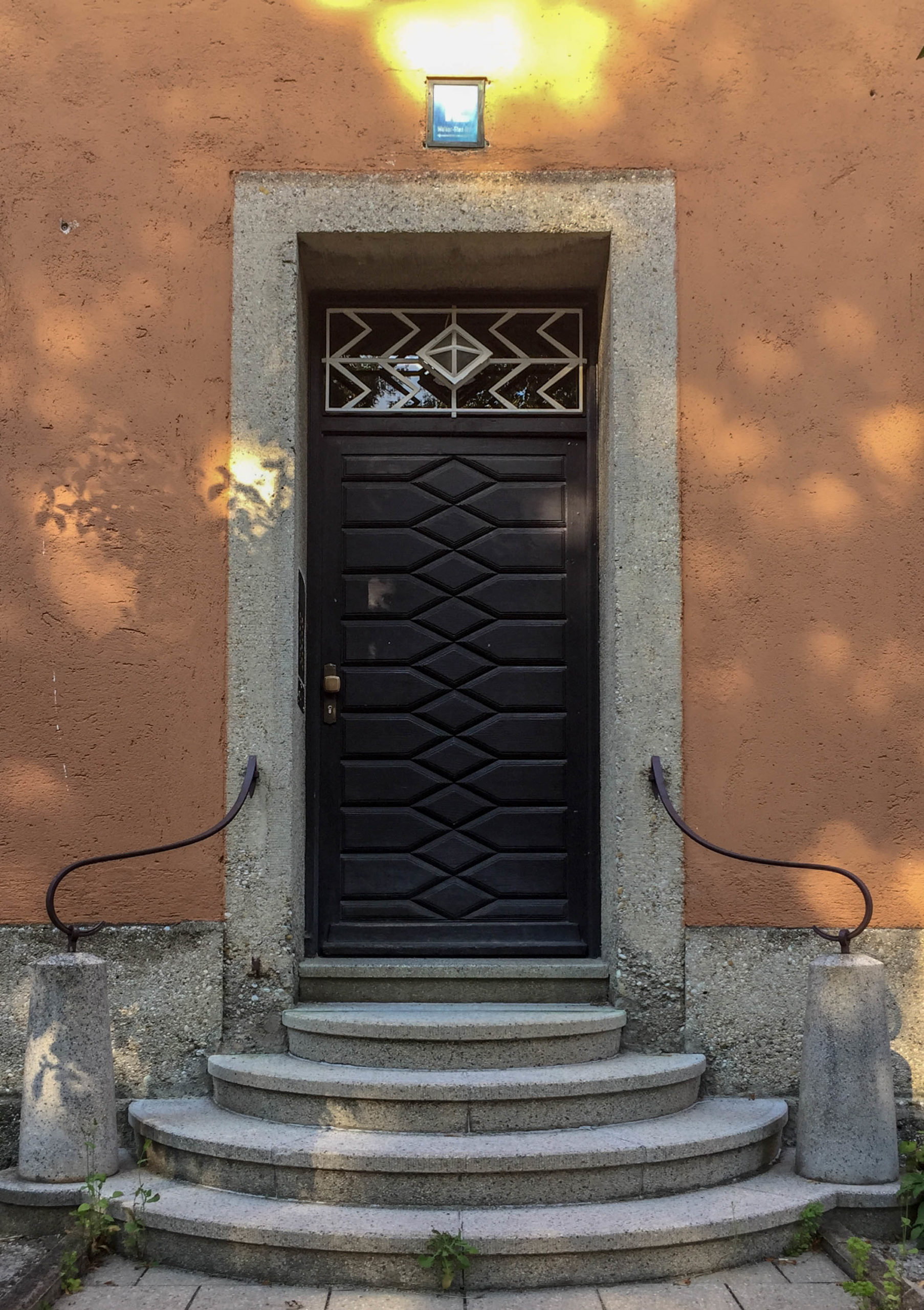 Wohnanlage, 1926-1928. Architekt: Heinrich Bergthold