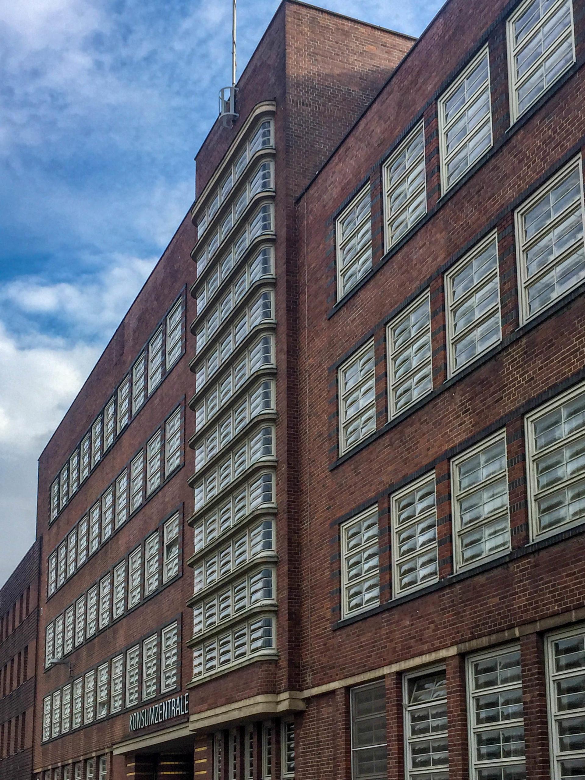 Konsumzentrale, 1929-1932. Architekt: Fritz Höger
