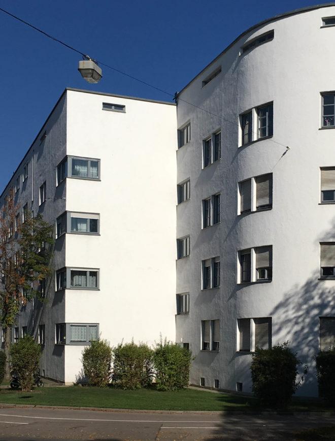 Wohnanlage Lessinghof, 1930-931. Architekt: Thomas Wechs
