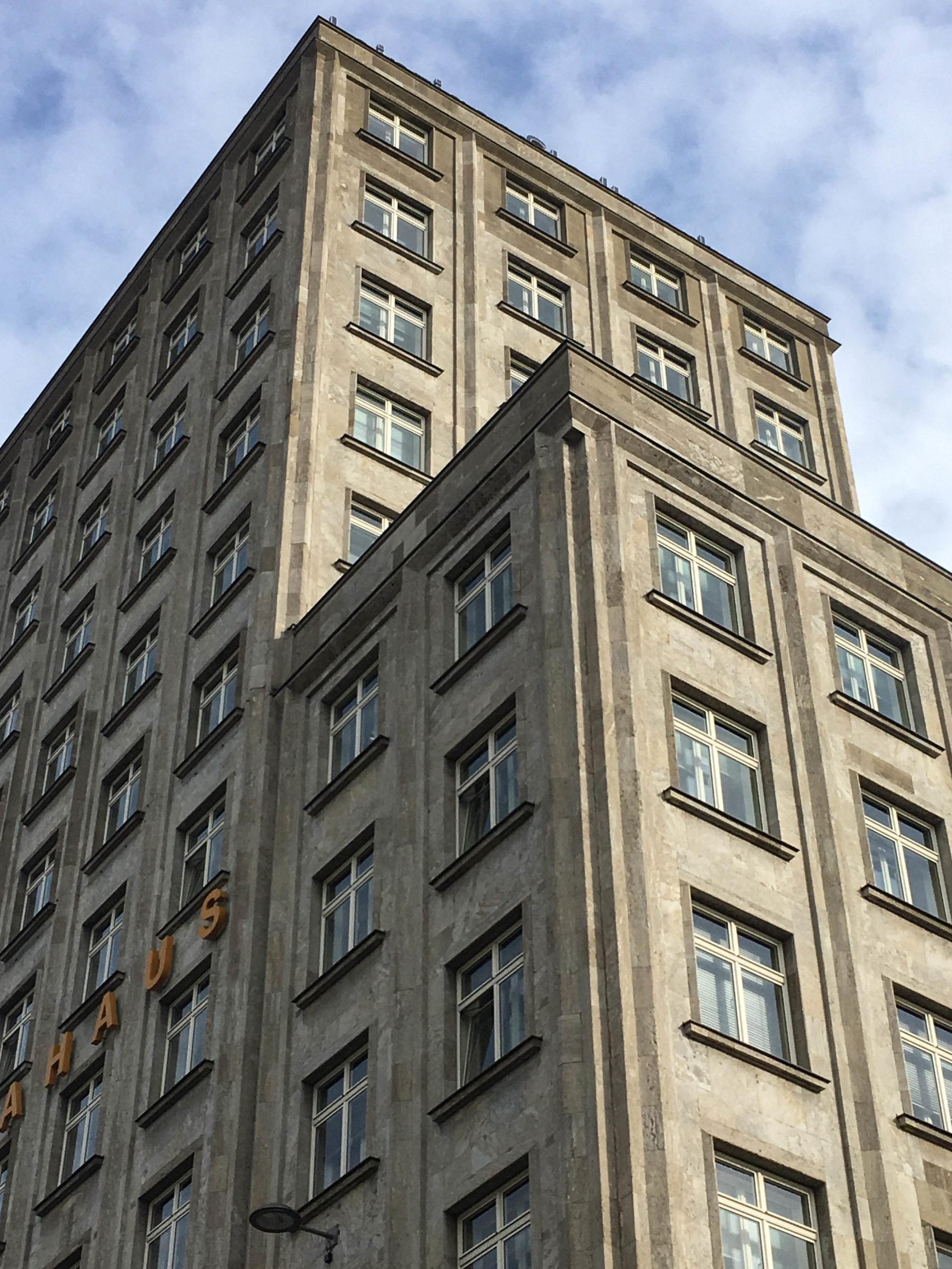 Europahaus, 1928-1930. Architekt: Otto Paul Burghardt
