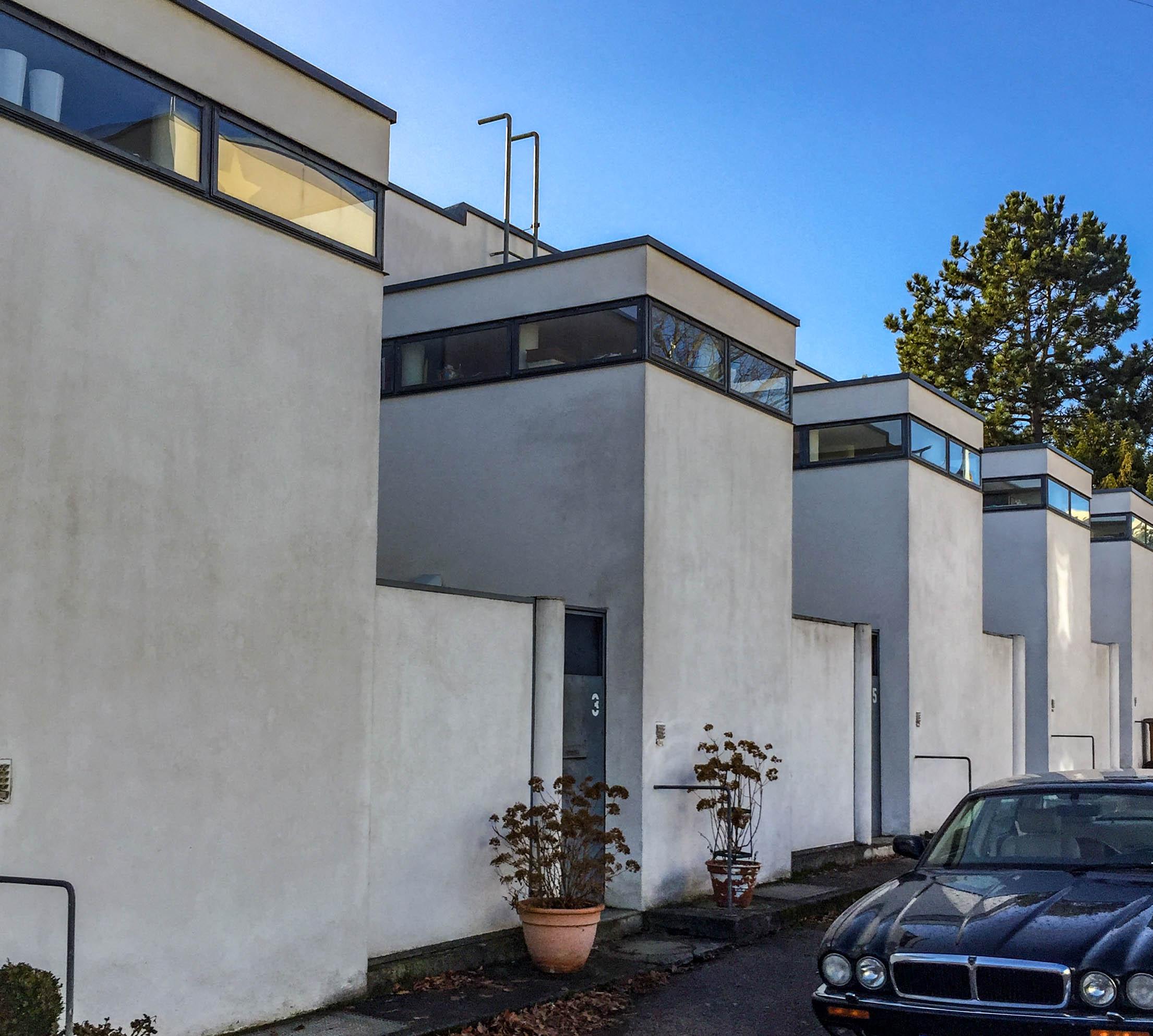 Reihenhäuser, 1927. Architekt: J.J.P.Oud