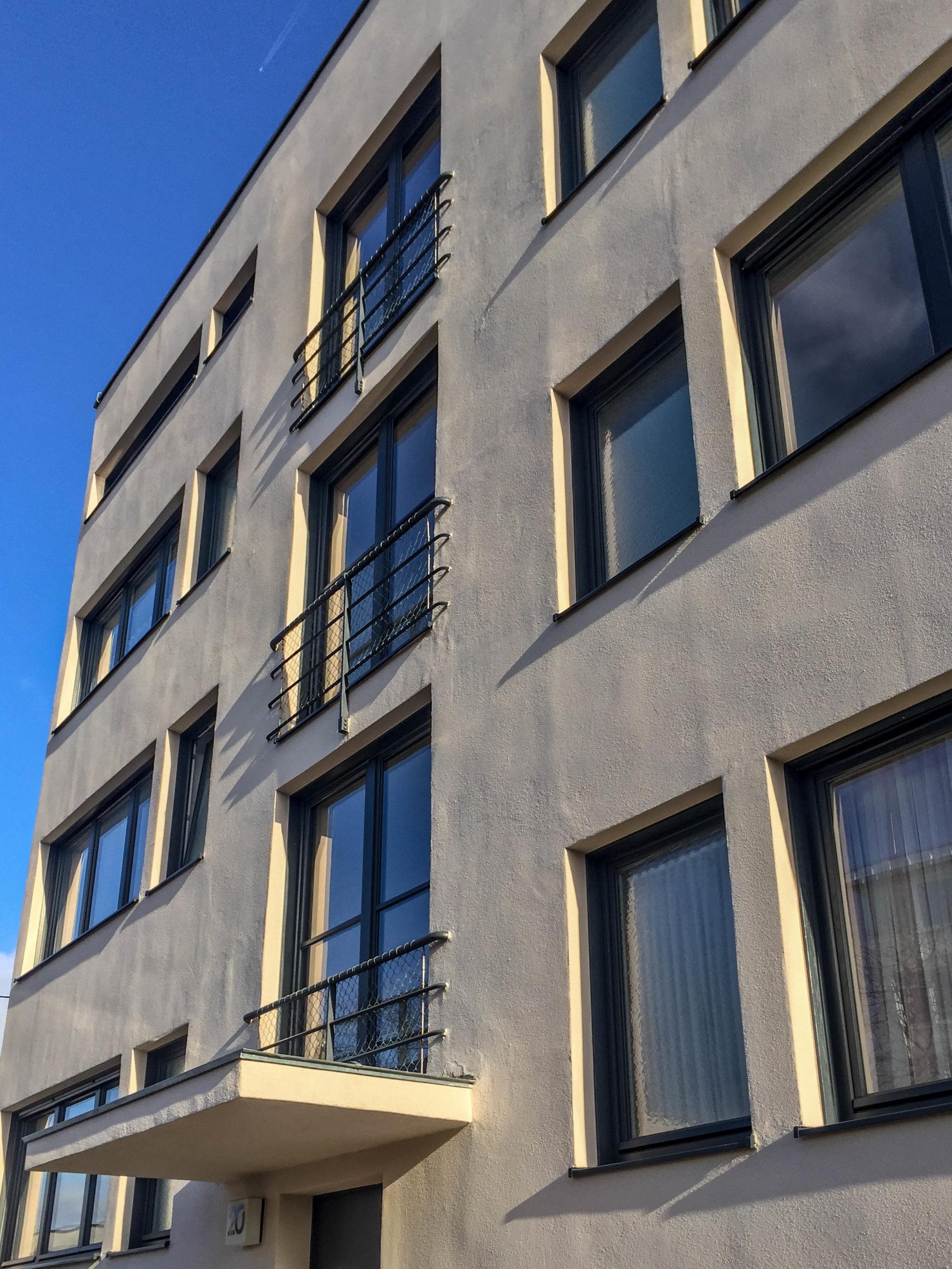 Wohnanlage, 1927. Architekt: Mies van der Rohe