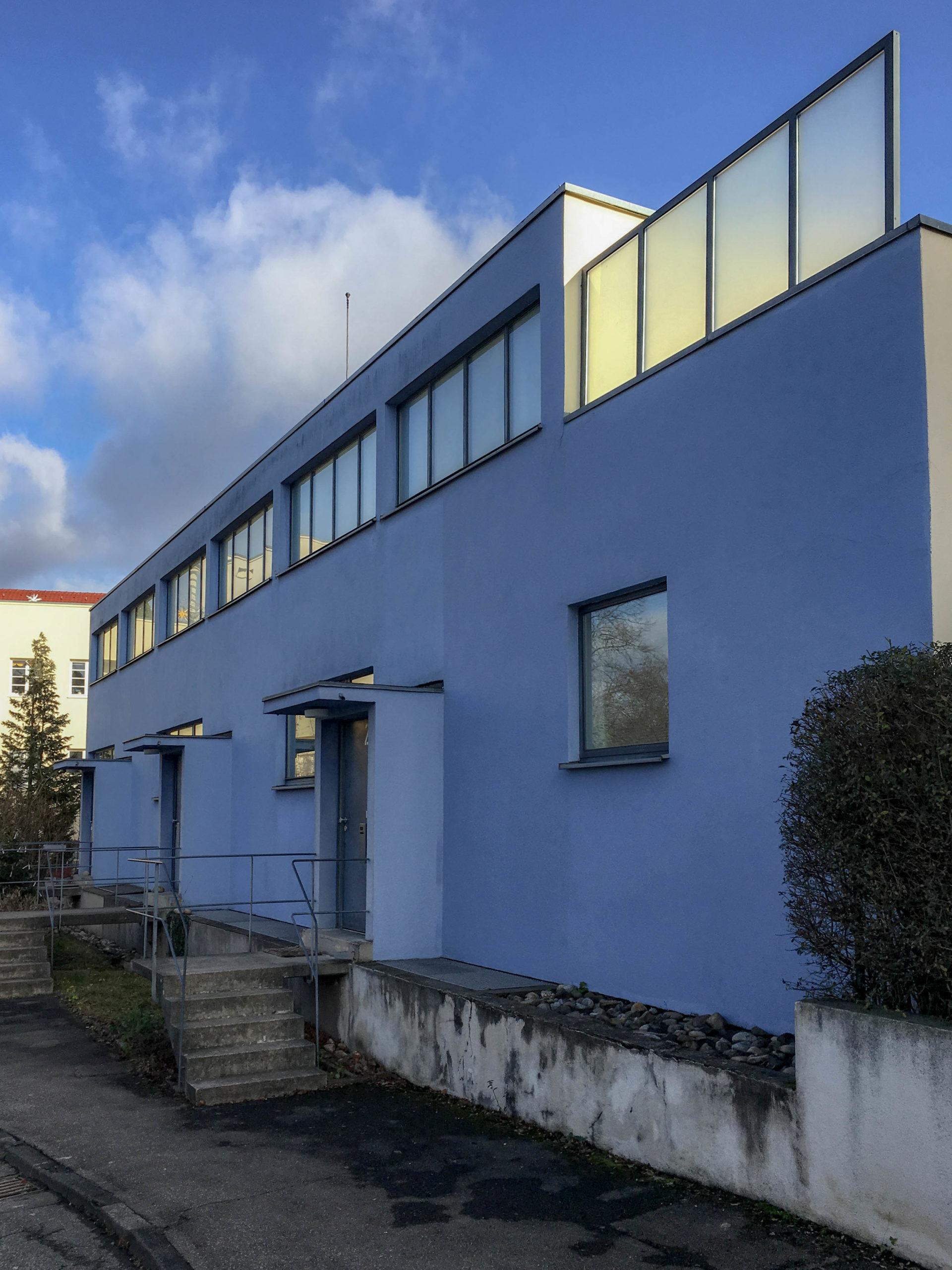 Reihenhäuser, 1927. Architekt: Mart Stam