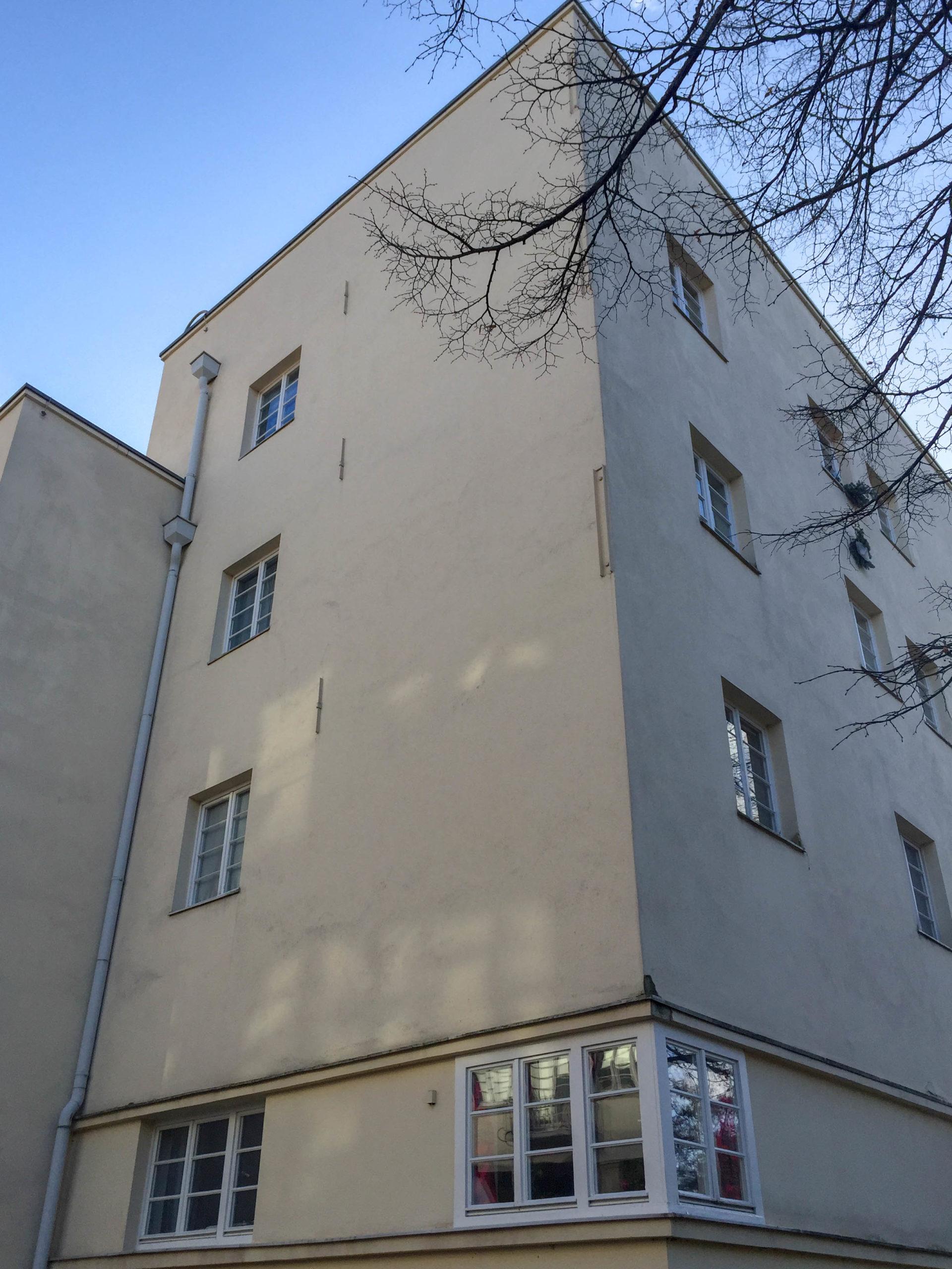 Terrassenhaus, 1927. Architekt: Peter Behrens