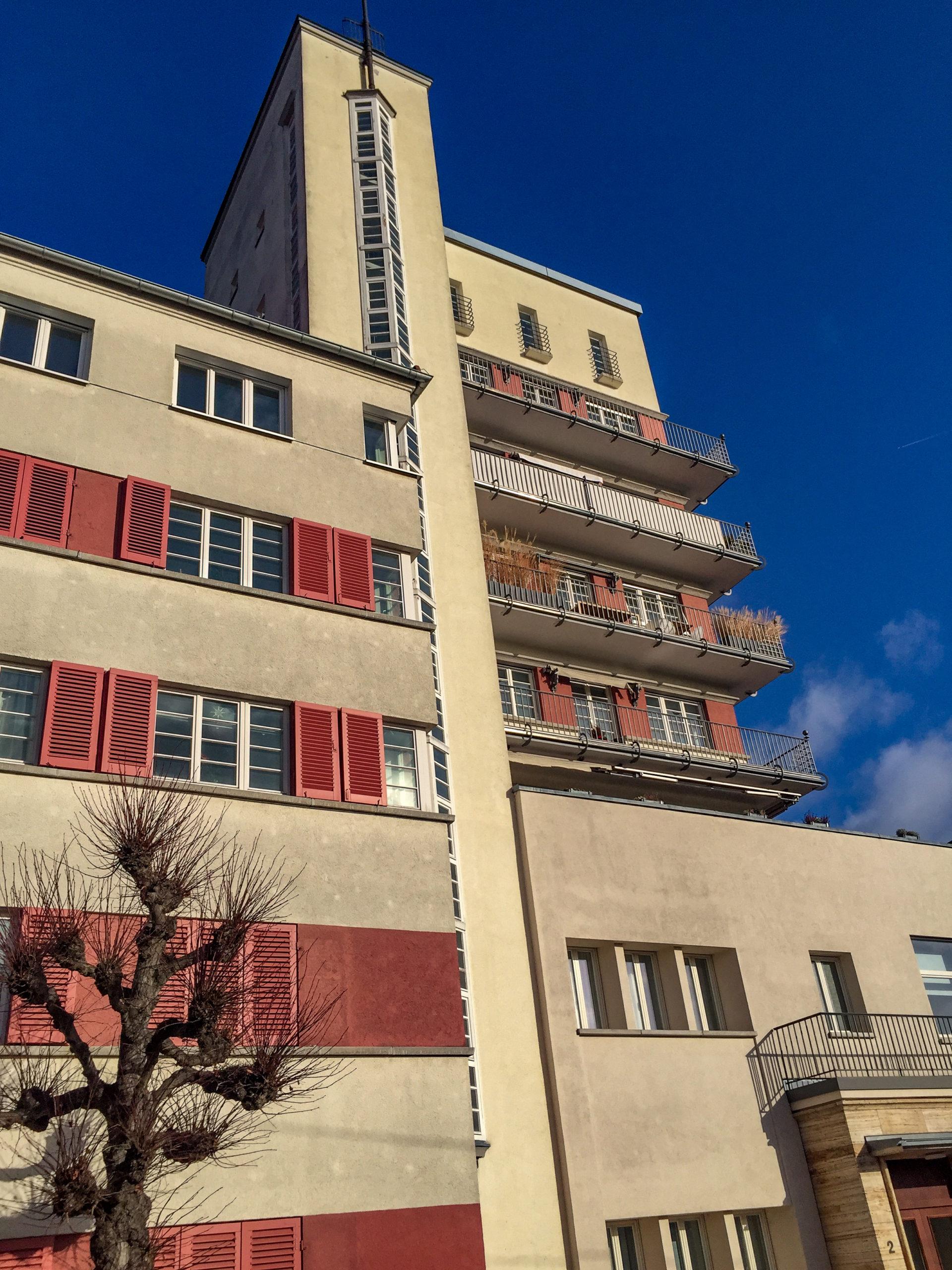 Friedrich-Ebert-Wohnhof, 1927-1929. Architect: Karl Beer