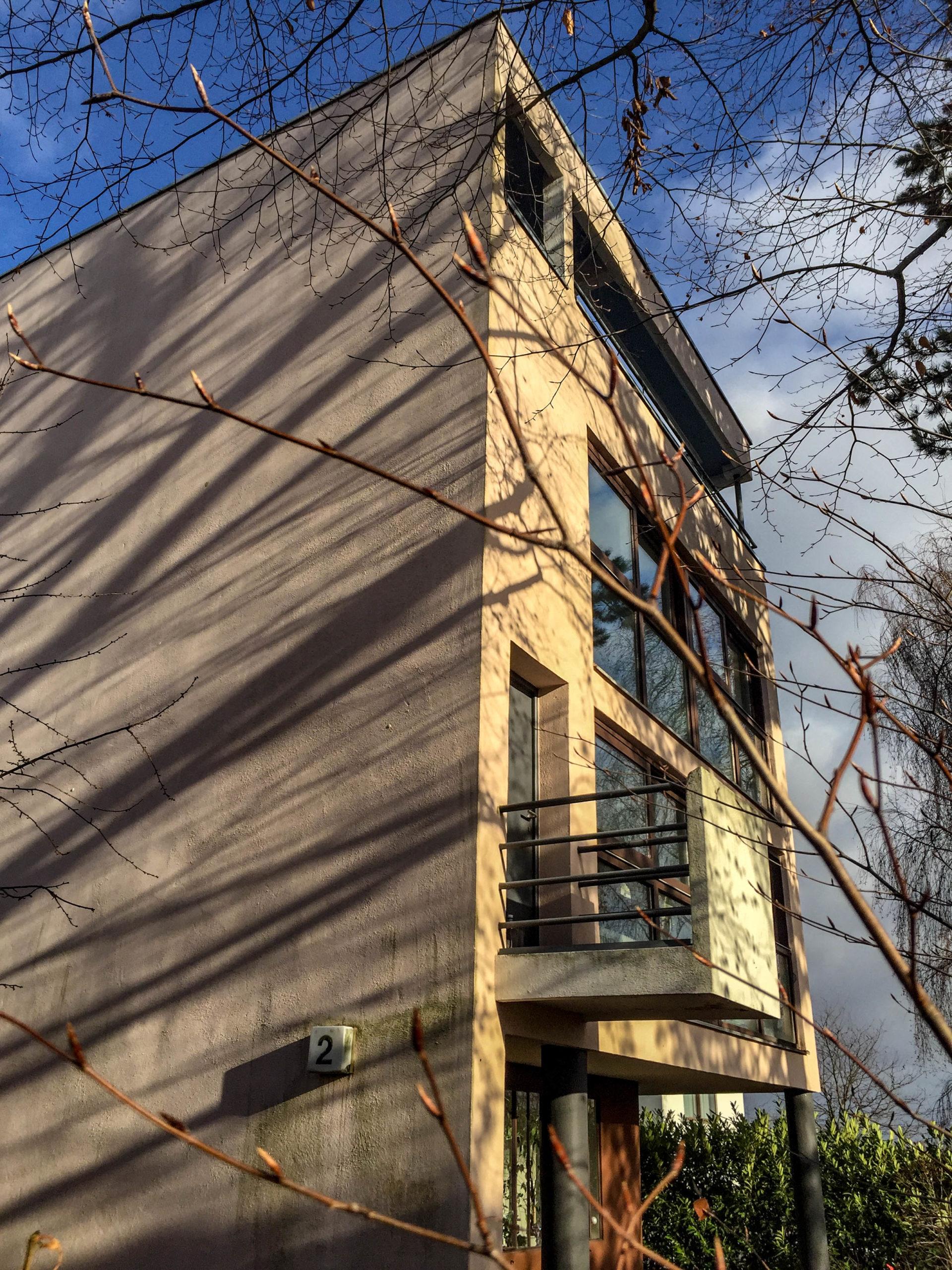 Wohnhaus, 1927. Architekten Le Corbusier, Pierre Jeanneret