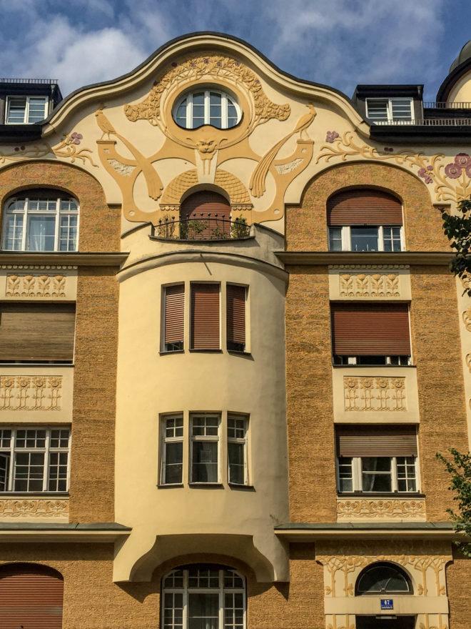 Wohnhaus, 1901. Architekt: Johann Zitter
