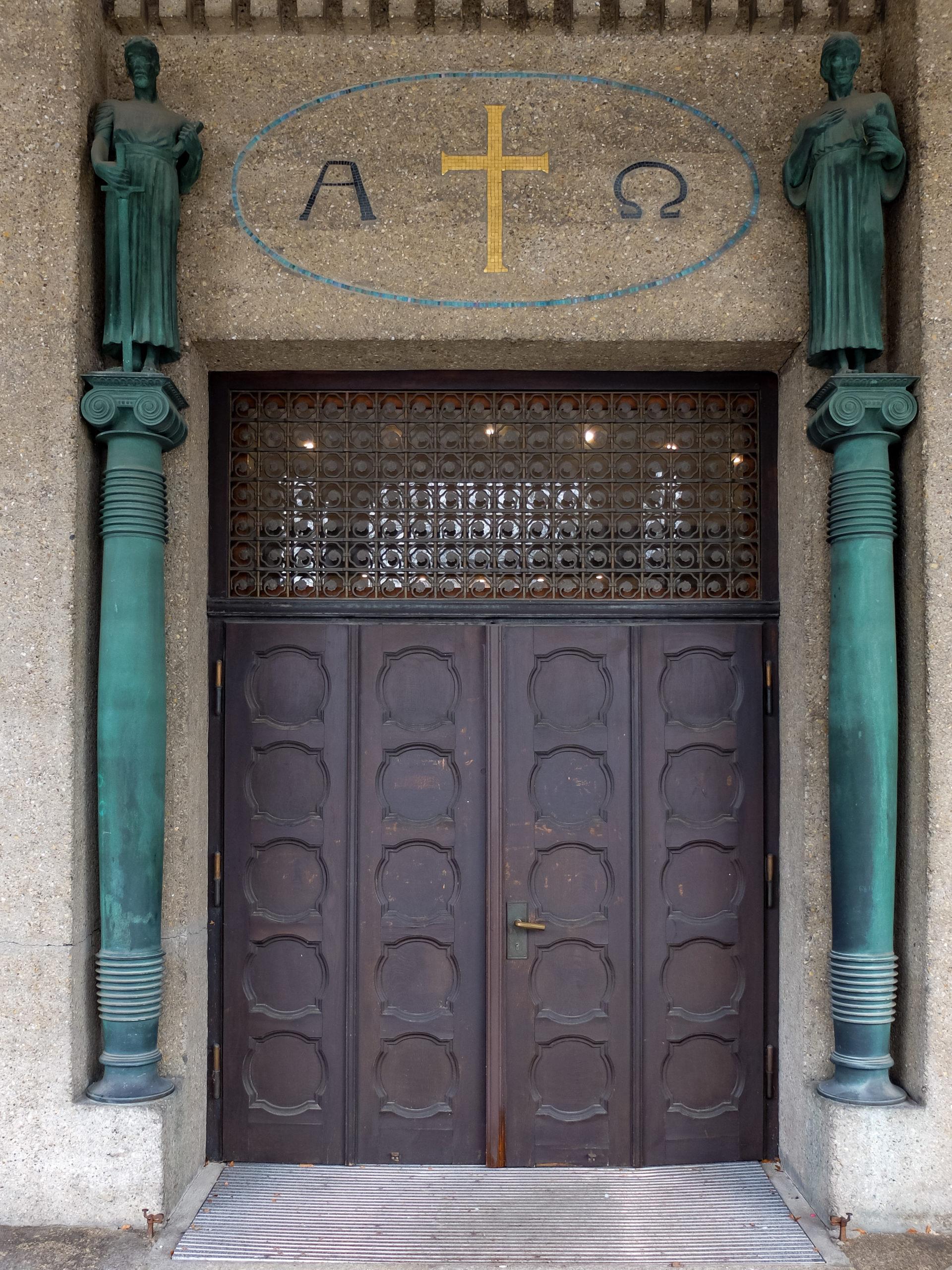 St. Paul's Church, 1908-1910. Architect: Theodor Fischer