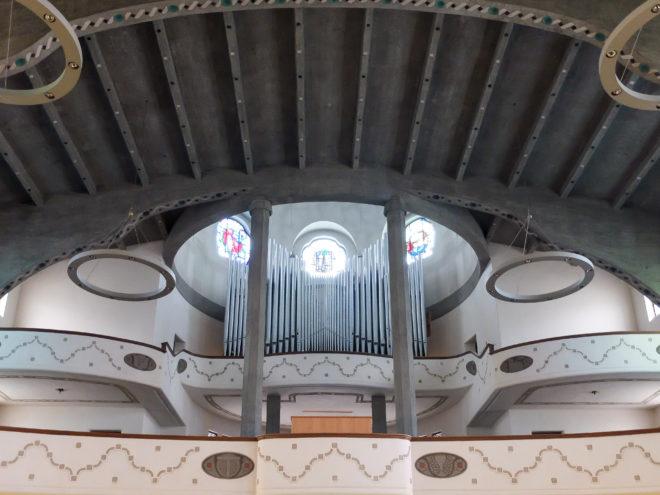 Orgel, Pauluskirche, 1908-1910. Architekt: Theodor Fischer