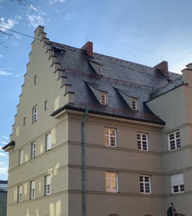 Postamt, 1922-1925. Architekten: Thomas Wechs, Georg Werner