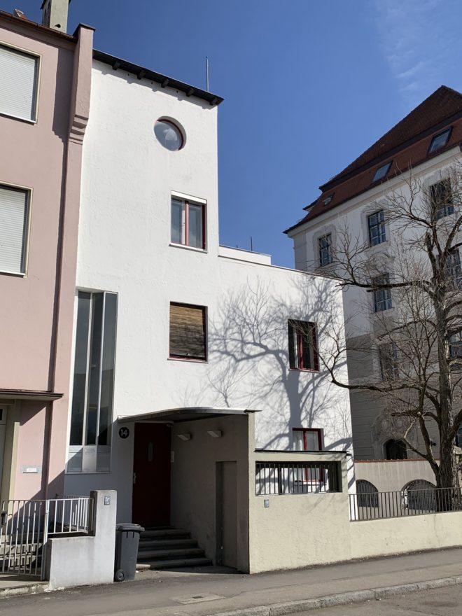 Ehemaliges Wohnhaus Wechs, 1929. Architekt: Thomas Wechs