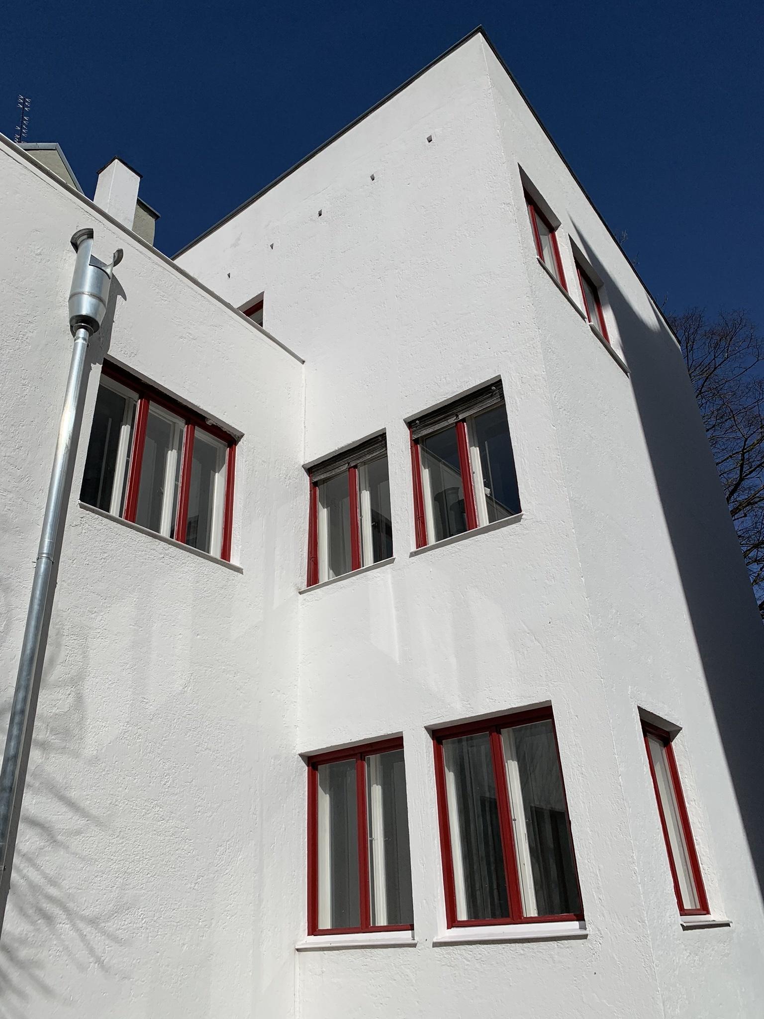 Büro- und Wohnhaus Wechs, 1929-1931. Architekt: Thomas Wechs
