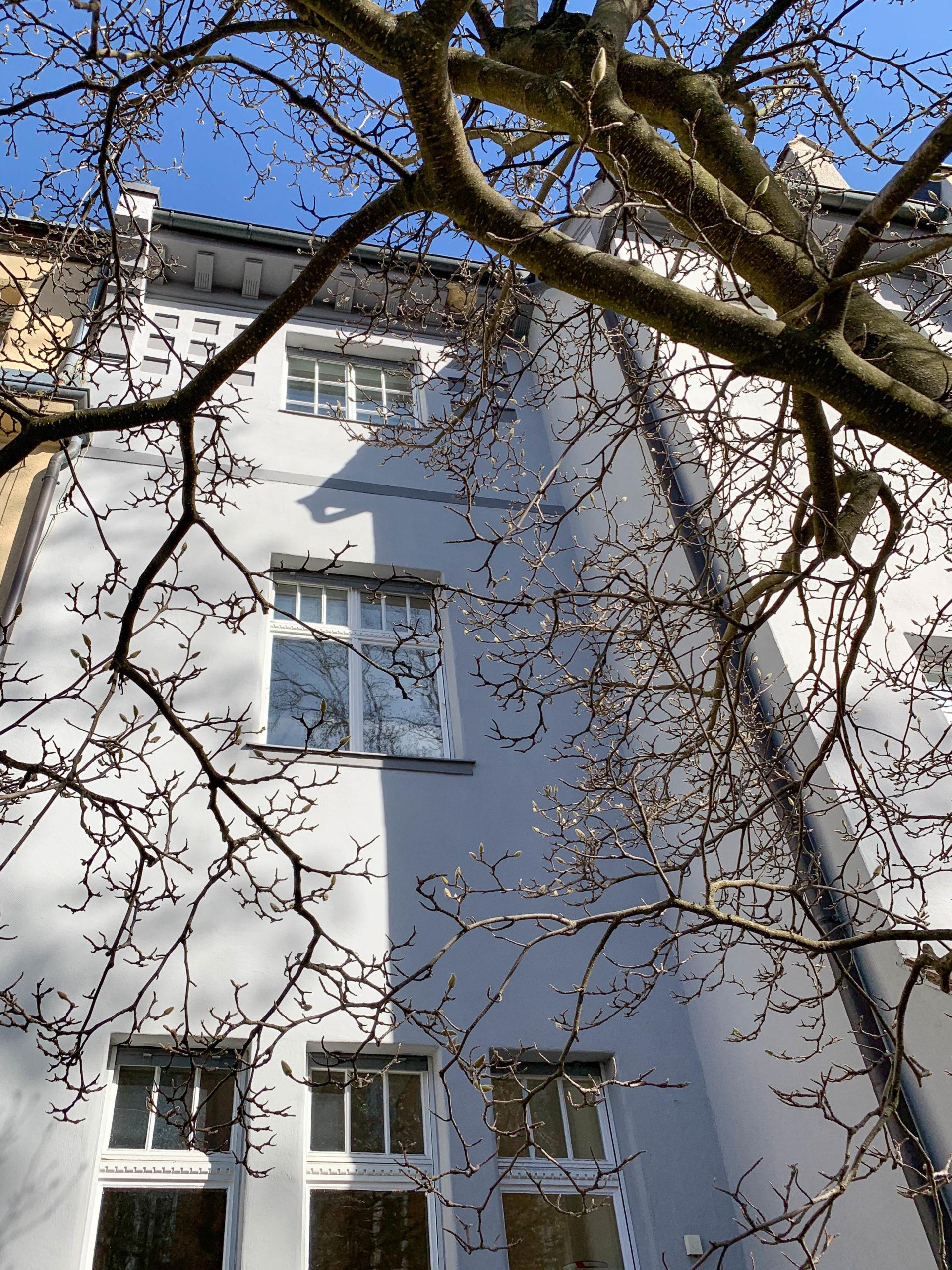Reihenhausgruppe, 1905. Architekten: Walter Krauß, Hermann Dürr