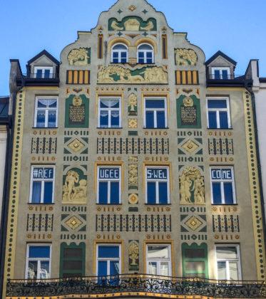 Mietshaus, 1905. Architekt: August Zeh