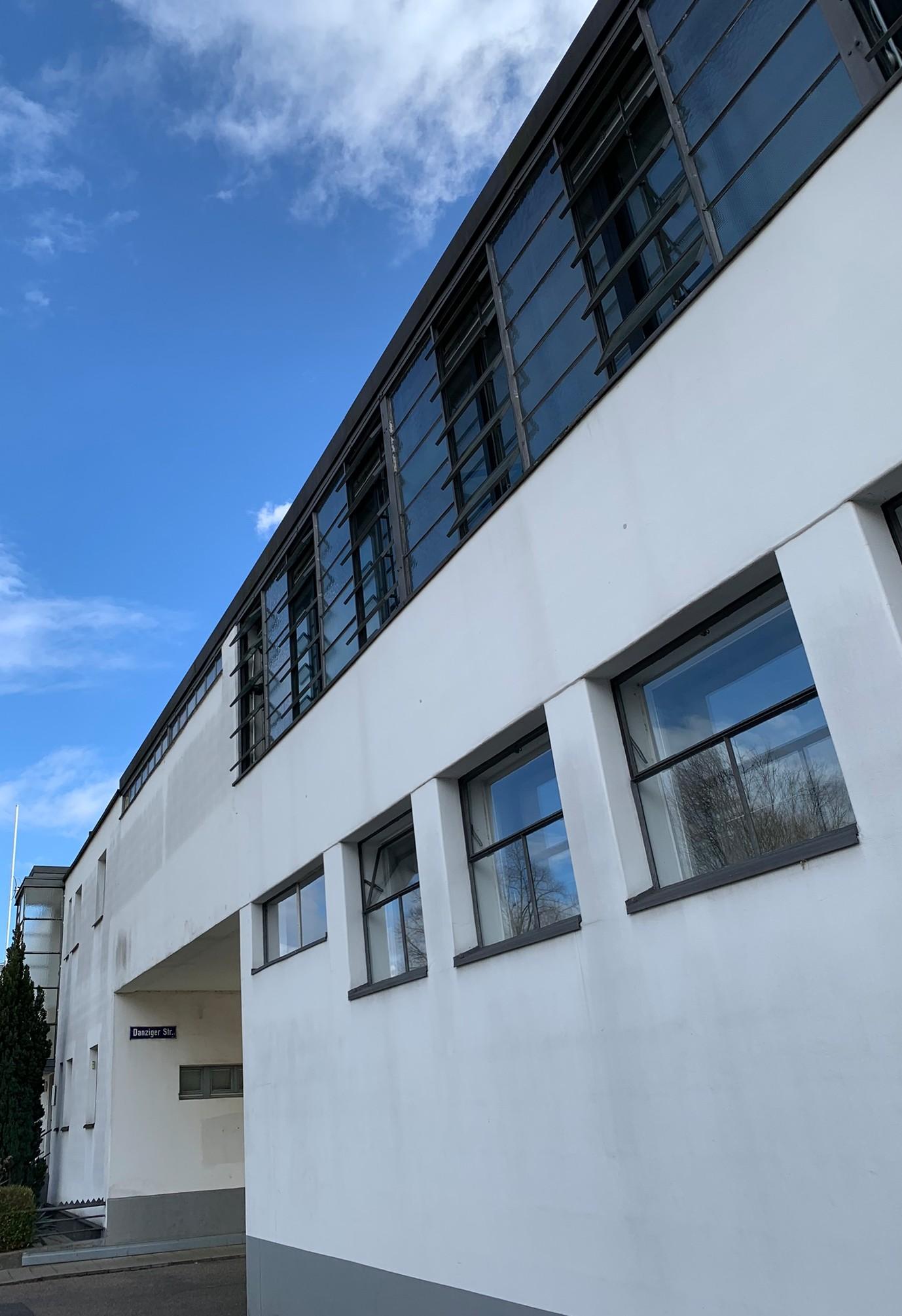 Heizungs- und Wäschereigebäude, Dammerstock Siedlung Karlsruhe, 1929, Architekt: Otto Haesler