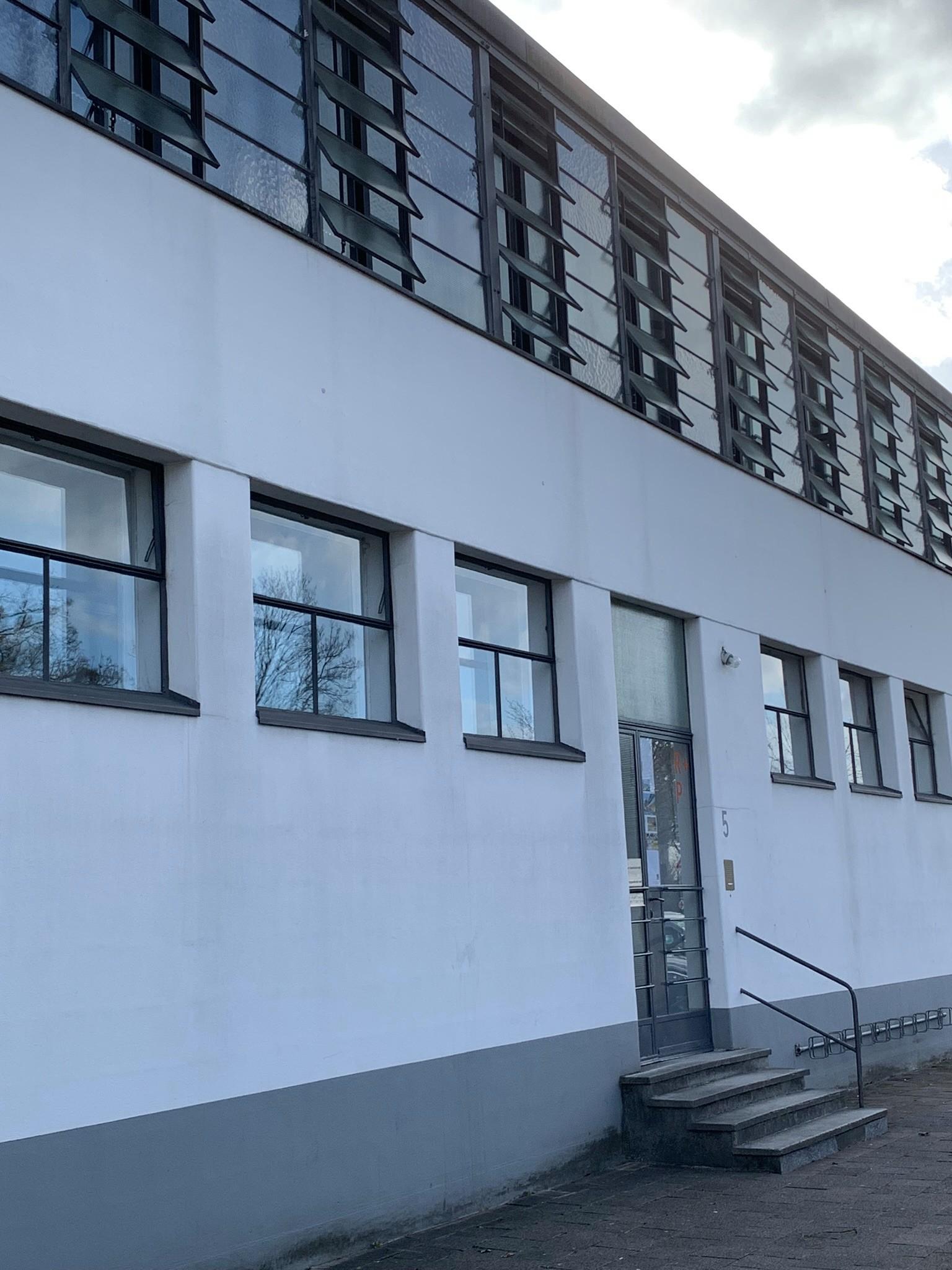 Heizungs- und Wäschereigebäude, Siedlung Dammerstock Karlsruhe, 1928-1929. Architekt: Otto Haesler