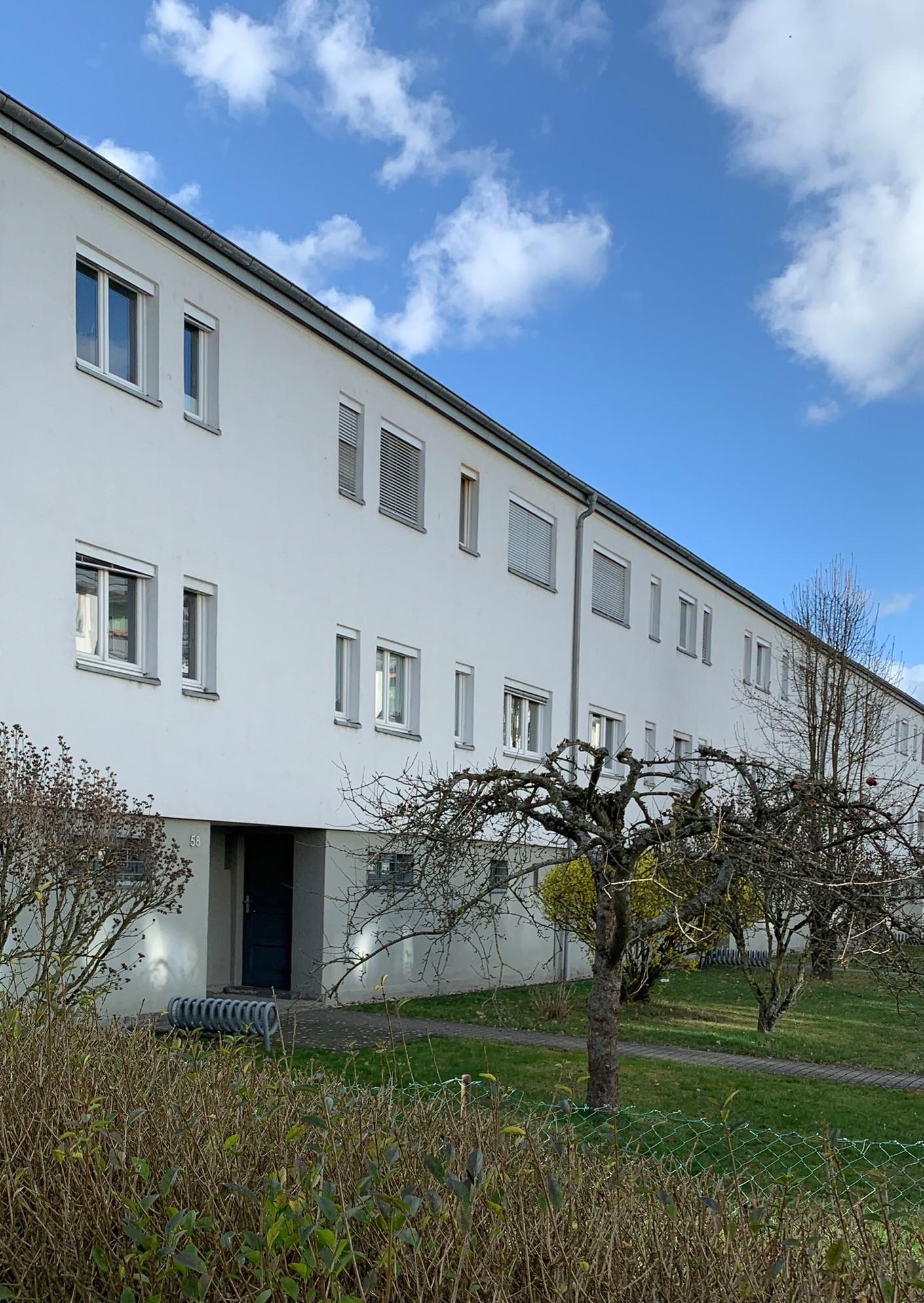 Dammerstock Estate, 1928-1929. Architect: Franz Roeckle
