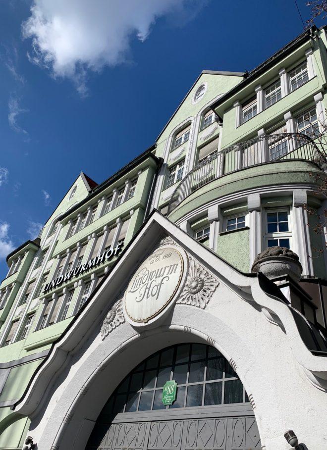 Kontor- und Geschäftshaus Lindwurmhof, 1910-1912. Architekt: Franz Rank