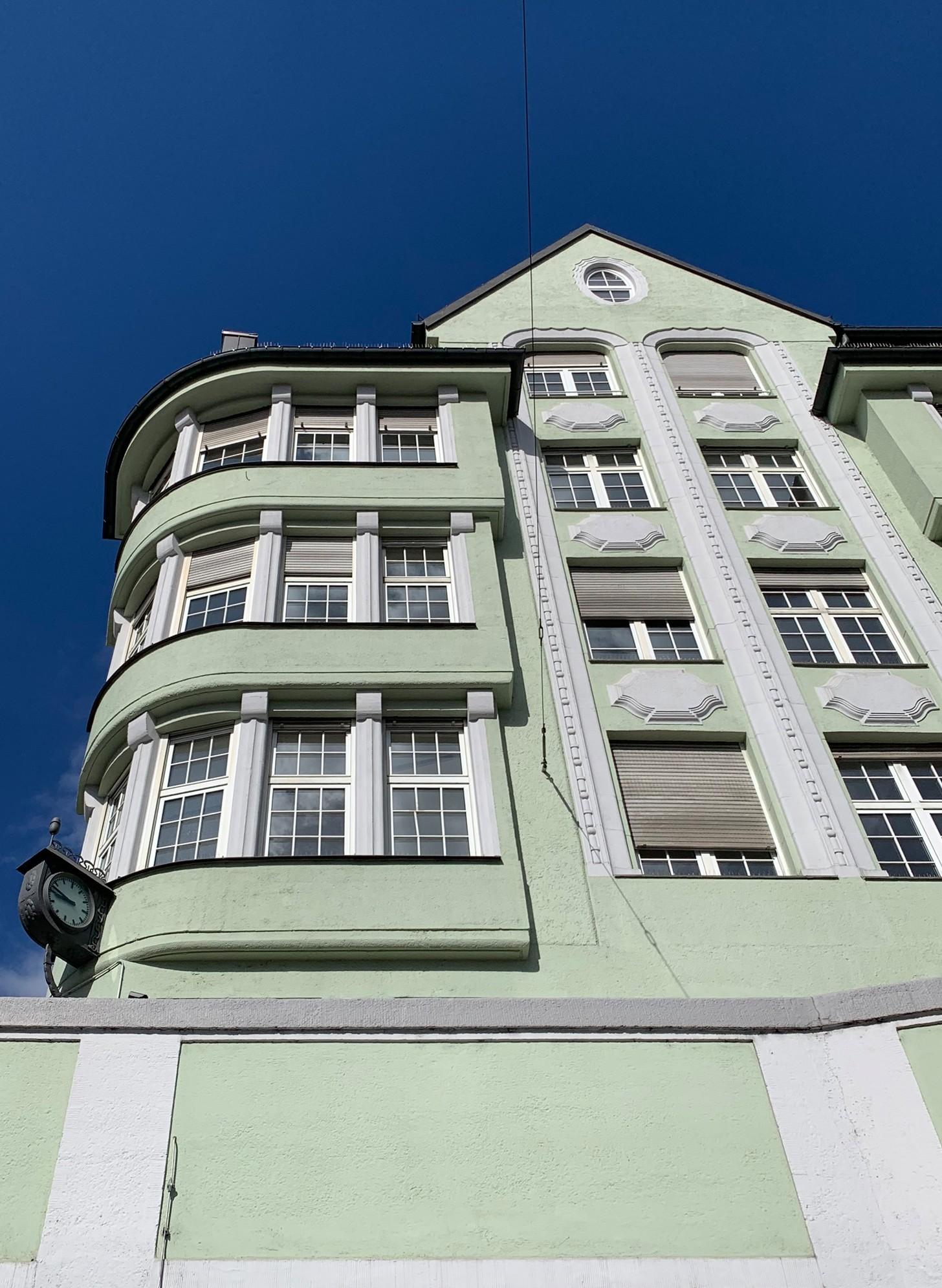 Lindwurmhof, 1910-1912. Architect: Franz Rank