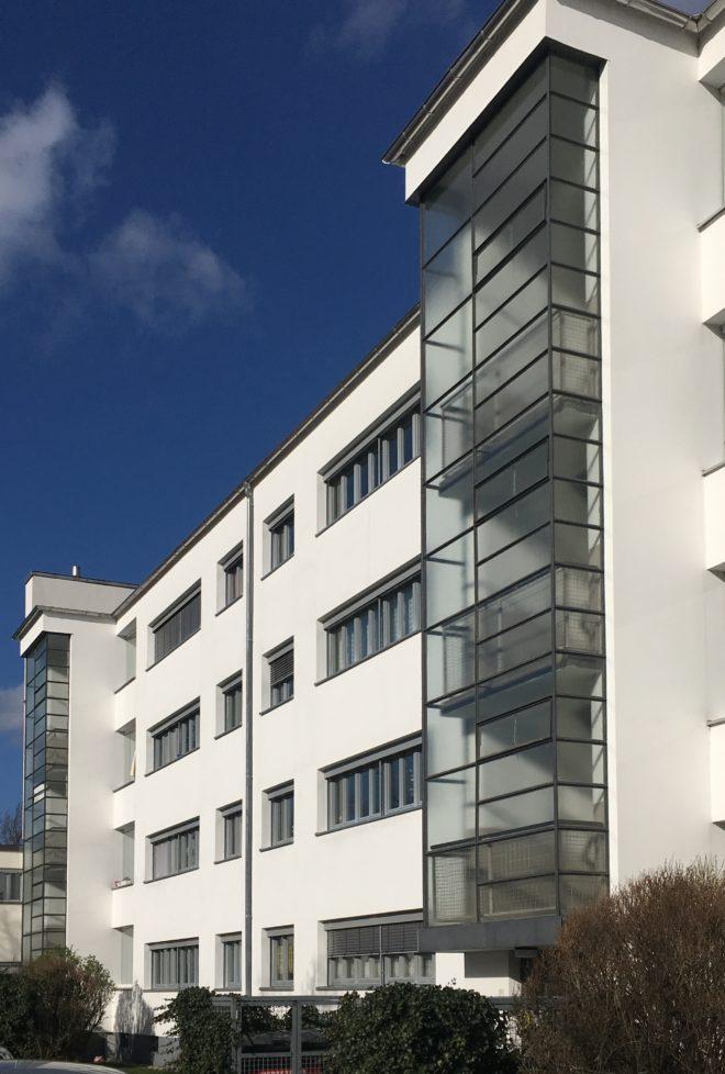 Mehrfamilienhaus, Dammerstock Siedlung Karlsruhe, 1929, Architekt: Otto Haesler