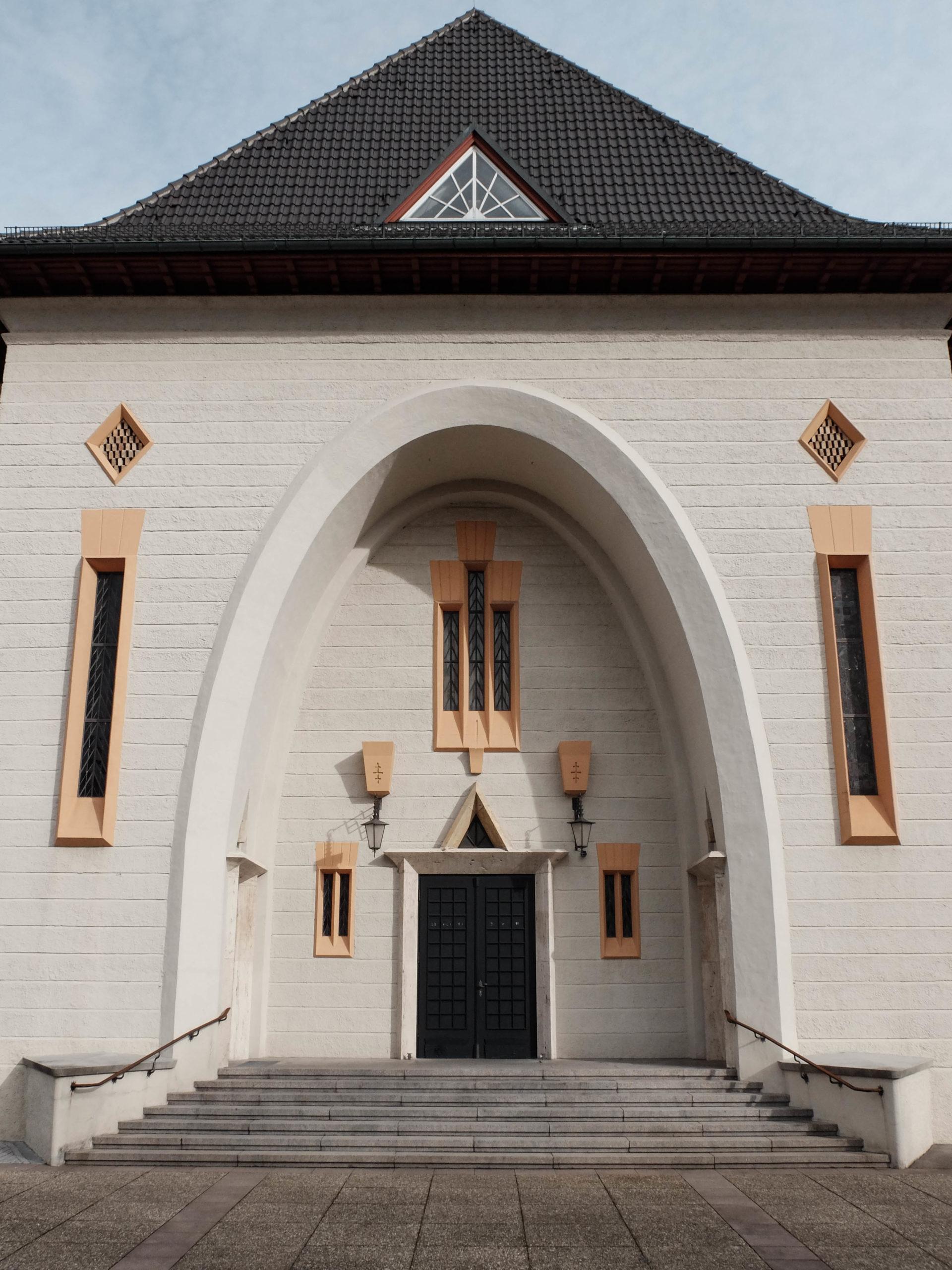 Mariä Himmelfahrt, 1925-1927. Architect: Otto Linder