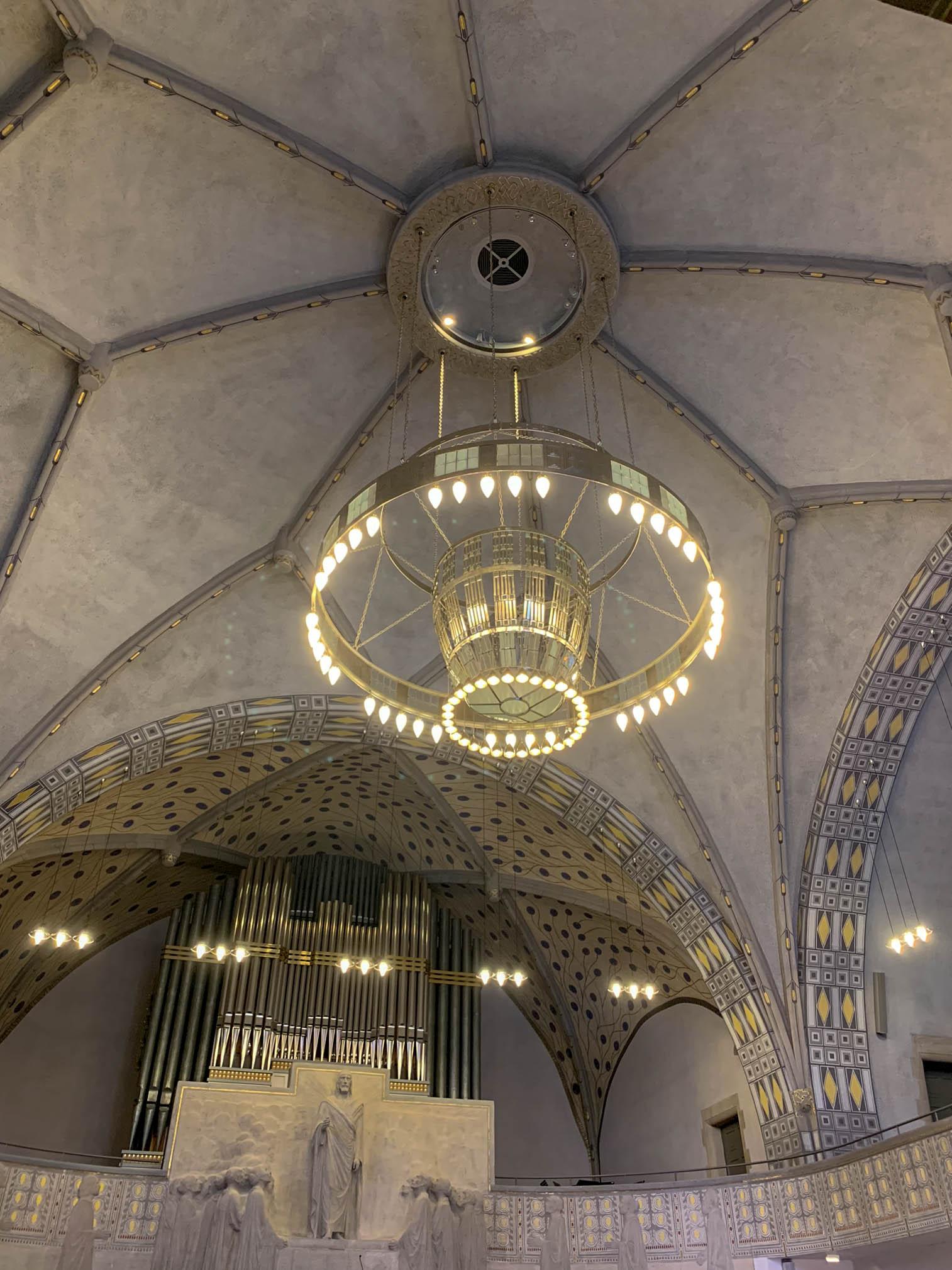 Lutherkirche, 1905-1907. Architekten: Robert Curjel, Karl Moser