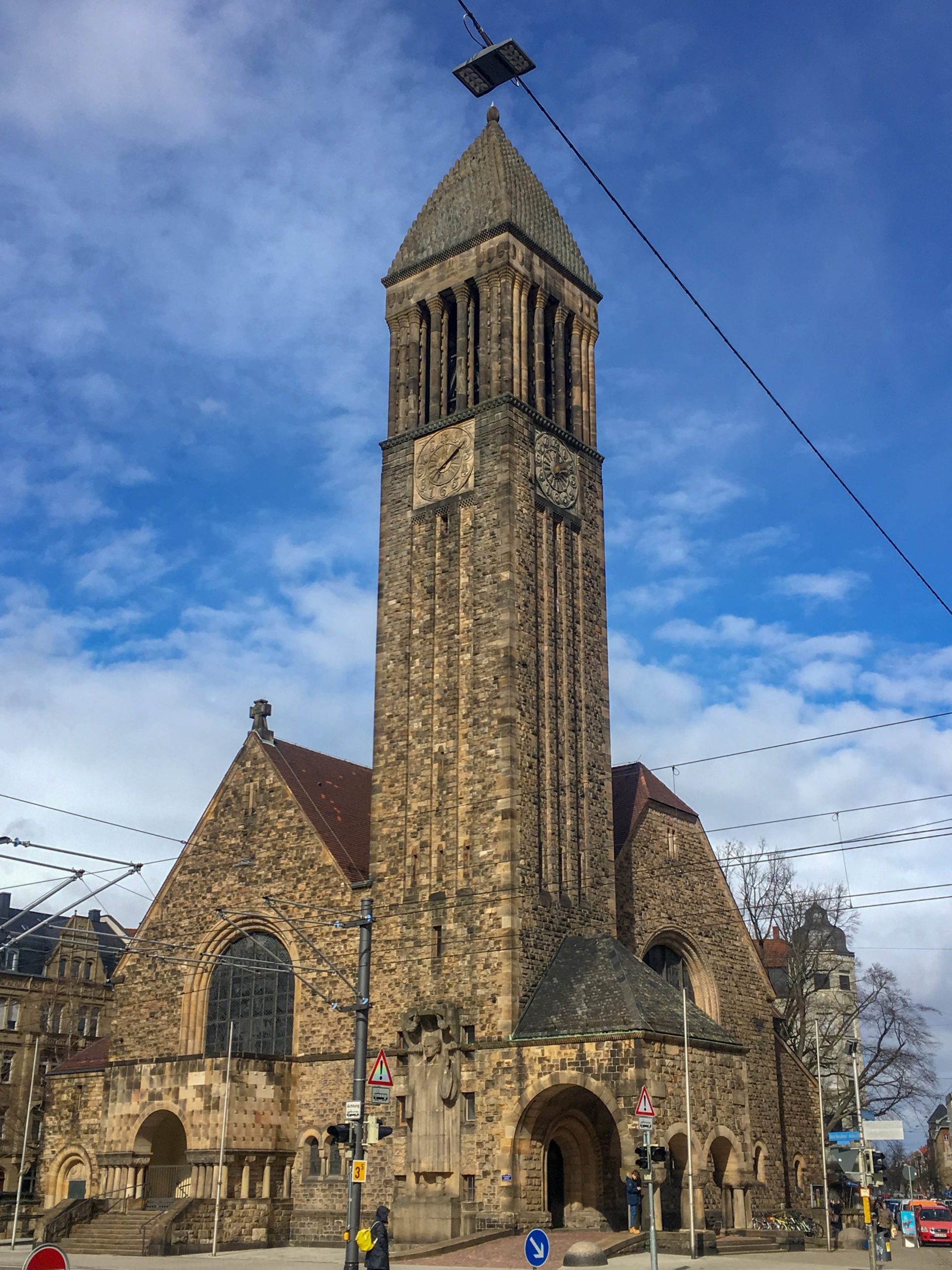 Lutheran Church, 1905-1907. Architects: Robert Curjel, Karl Moser