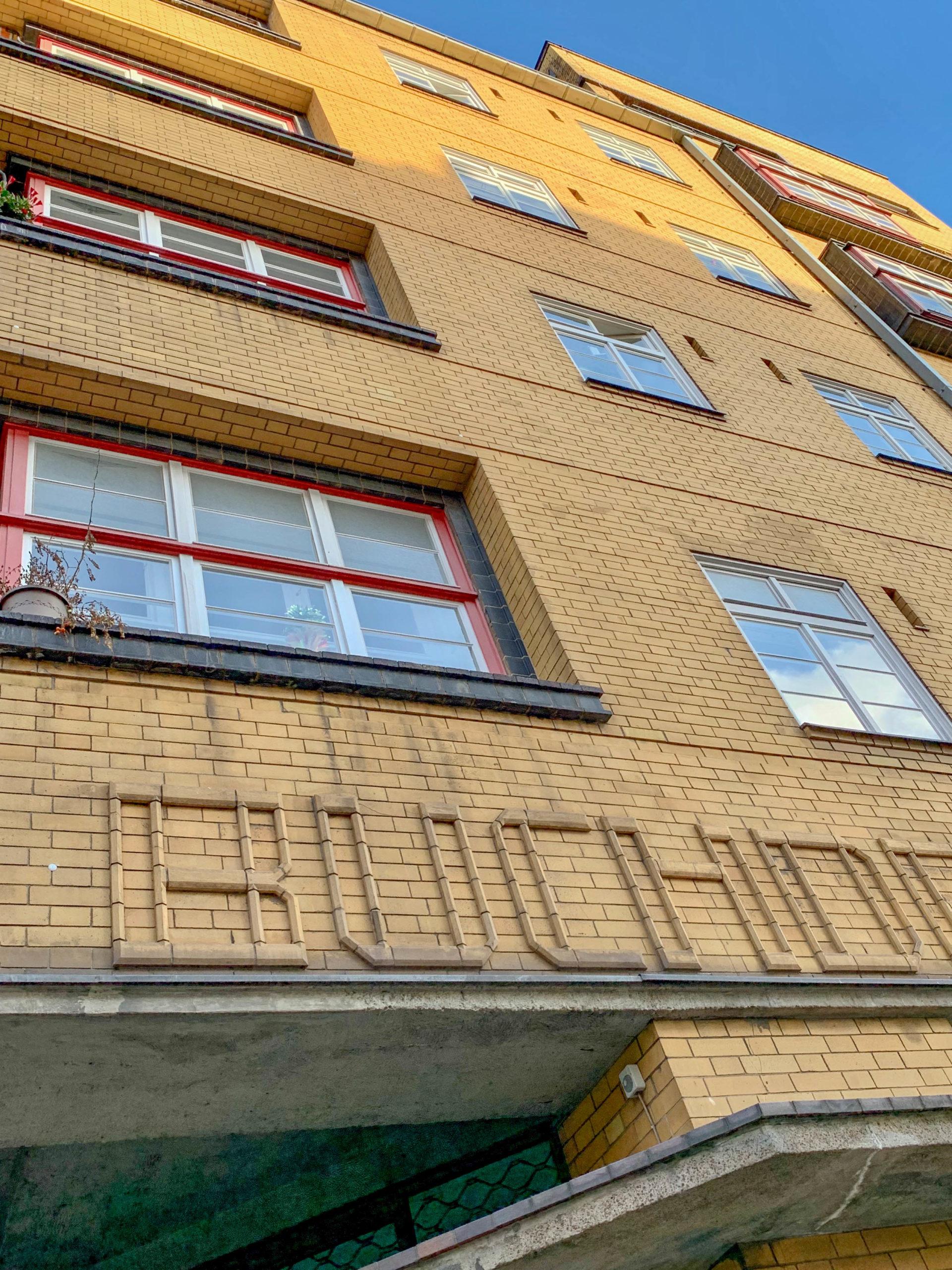 House for the Association of German Bookprinters, 1924-1926. Architects: Max Taut, Franz Hoffmann, Karl Bernhard