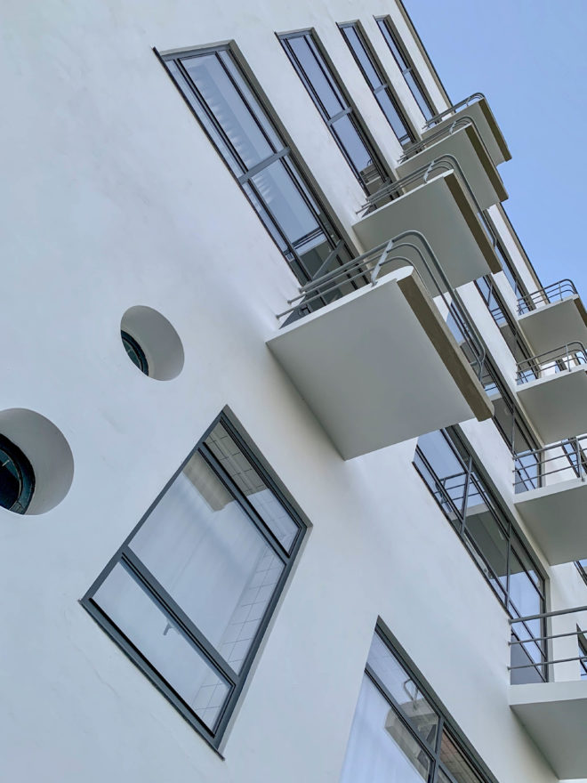 Prellerhaus, 1925-1926. Architekt: Walter Gropius