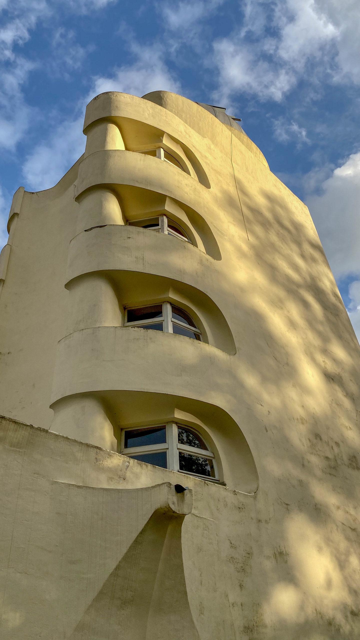 Einstein Tower, 1919-1924. Architect: Erich Mendelsohn