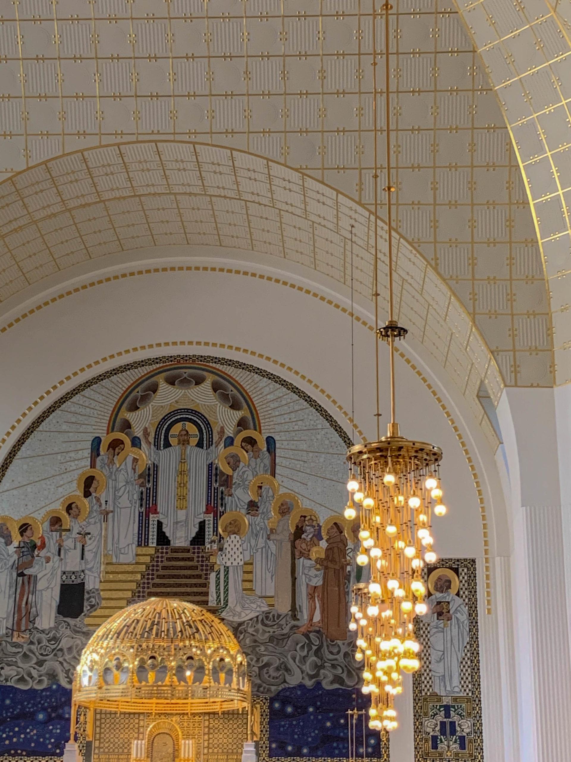 Kirche am Steinhof, 1904-1907. Architekt: Otto Wagner
