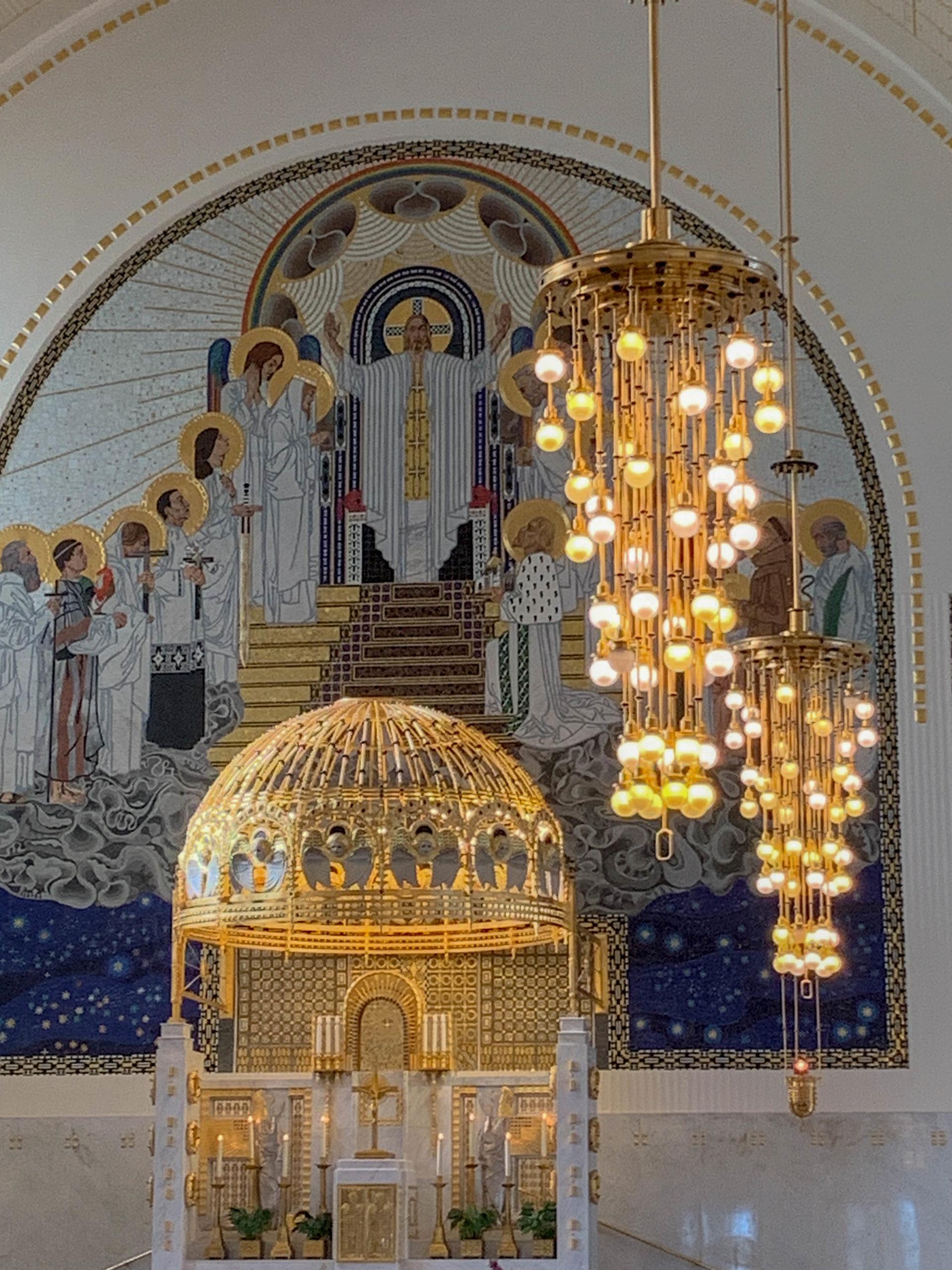 Kirche am Steinhof, 1904-1907. Architect: Otto Wagner