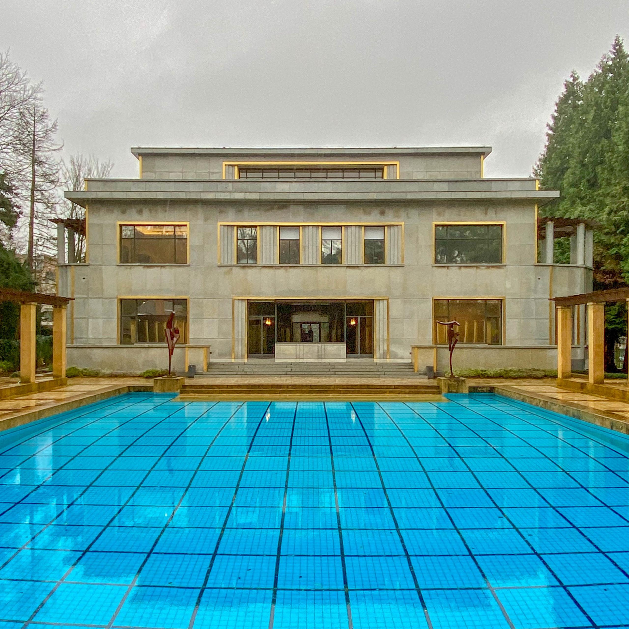 Villa Empain, 1930-1935. Architekt: Michel Polak