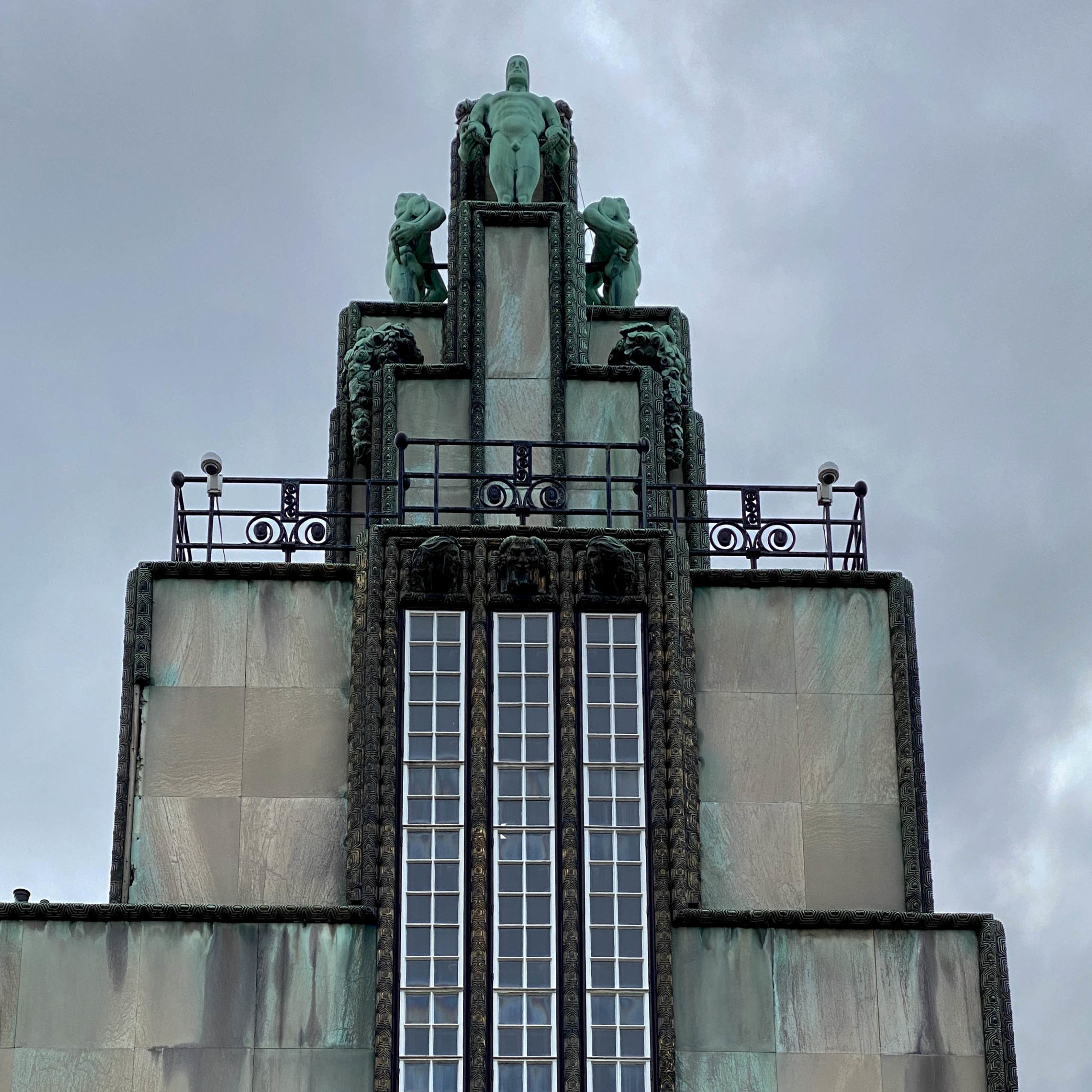 Palais Stoclet, 1905-1911. Architect: Josef Hoffmann
