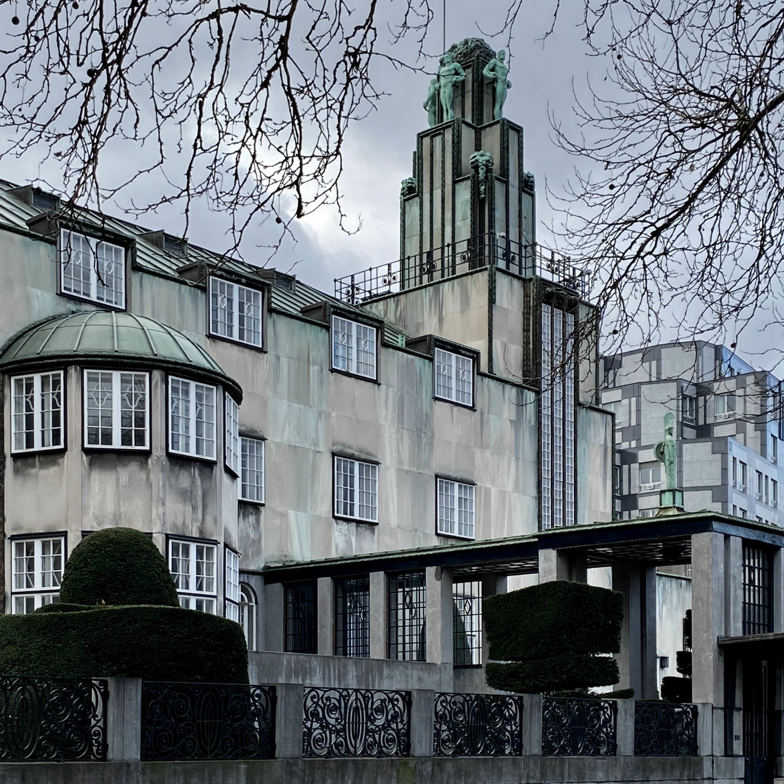 Palais Stoclet, 1905-1911. Architekt: Josef Hoffmann