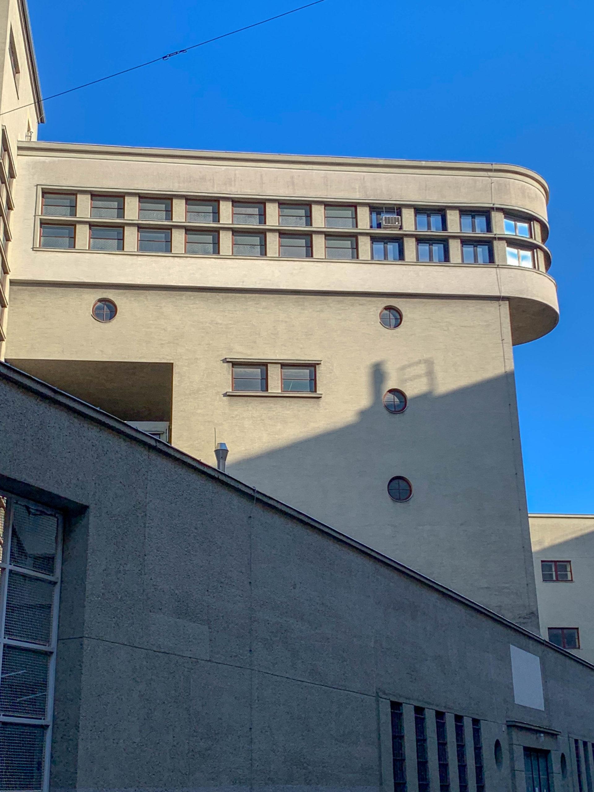 Umpannwerk Favoriten, 1929-1931. Architektem: Eugen Kastner, Fritz Waage