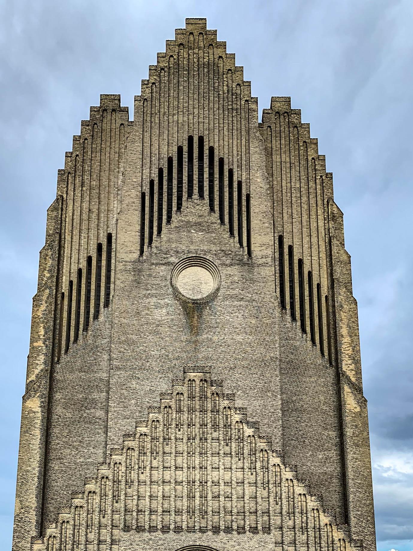 Grundtvig's Church, 1921-1940. Architect: Peder Jensen-Klint