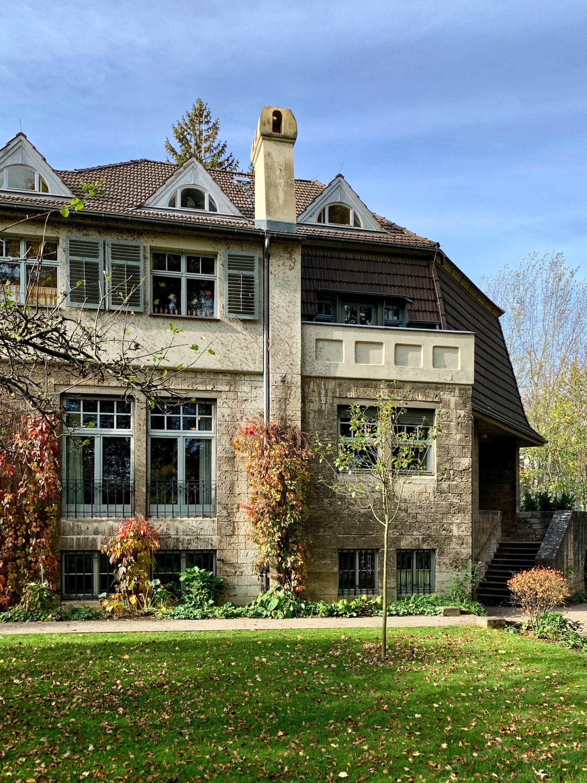 Haus Hohe Pappeln, 1906-1907. Architekt: Henry van de Velde